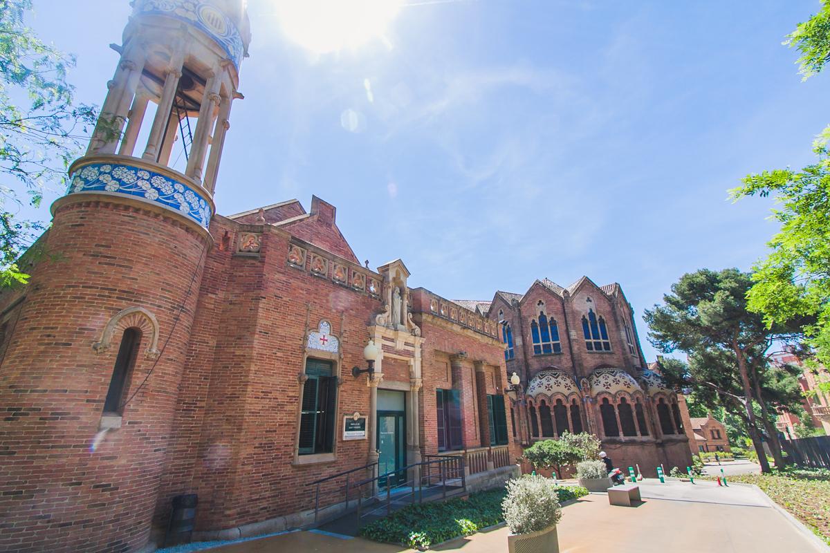 Szpital św. Pawła w Barcelonie