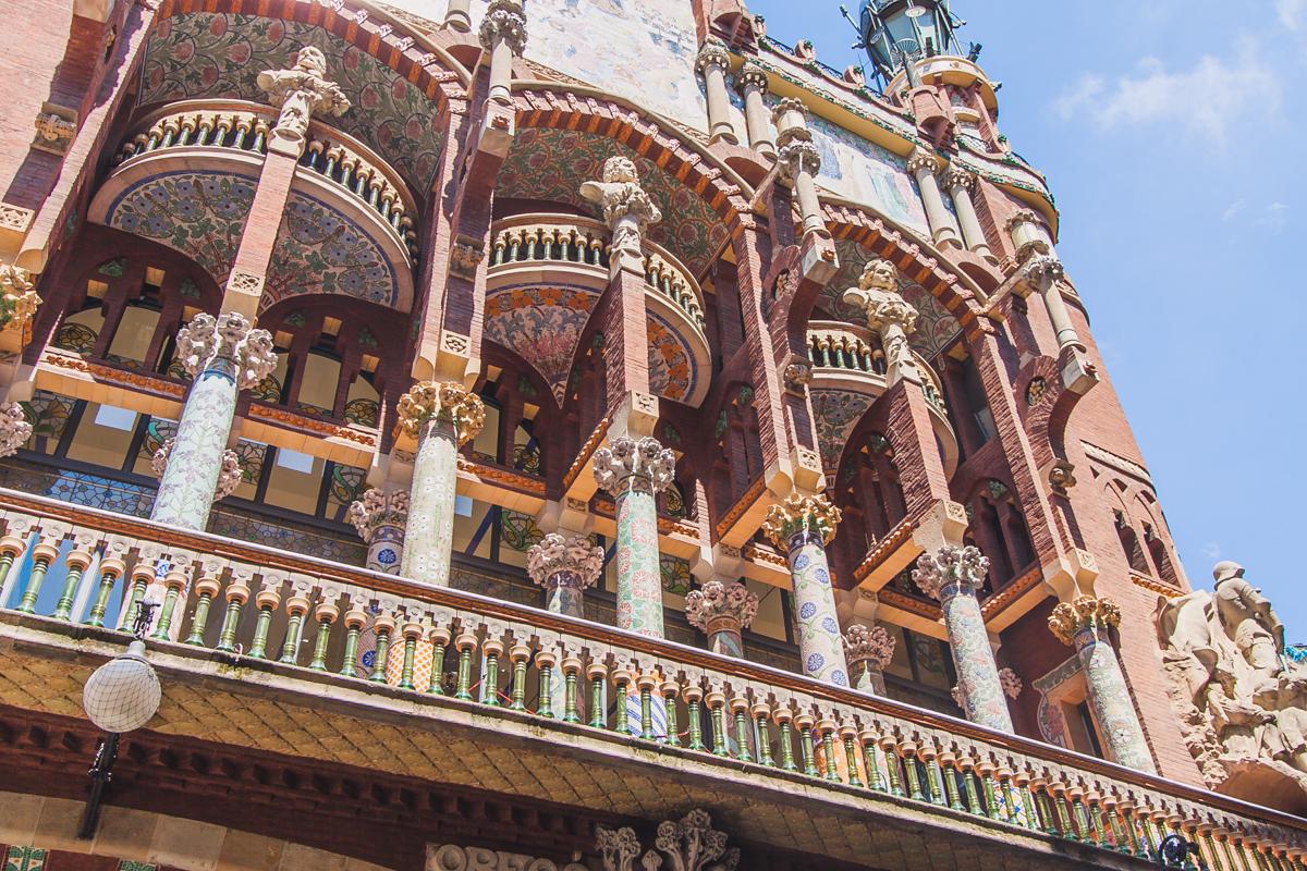 Pałac Muzyki Katalońskiej Palau de la Música Catalana
