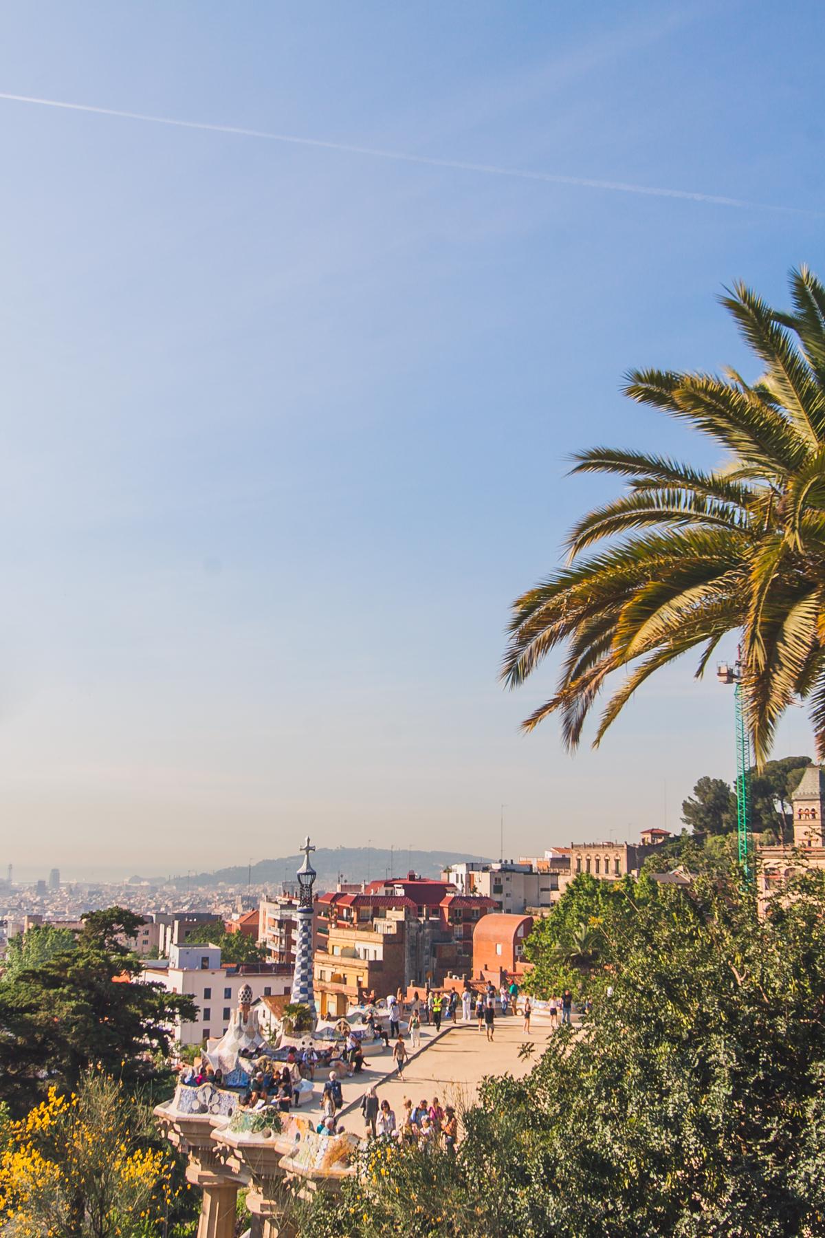 Barcelona Park Guell Gaudi co zobaczyć