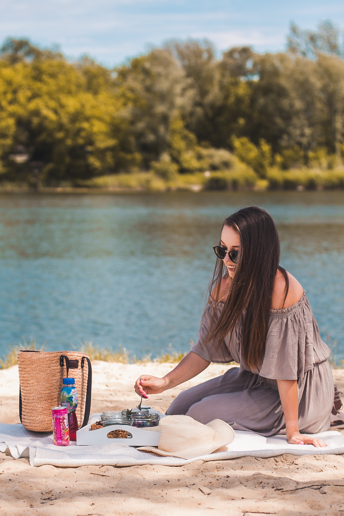 pomysł na piknik na plaży
