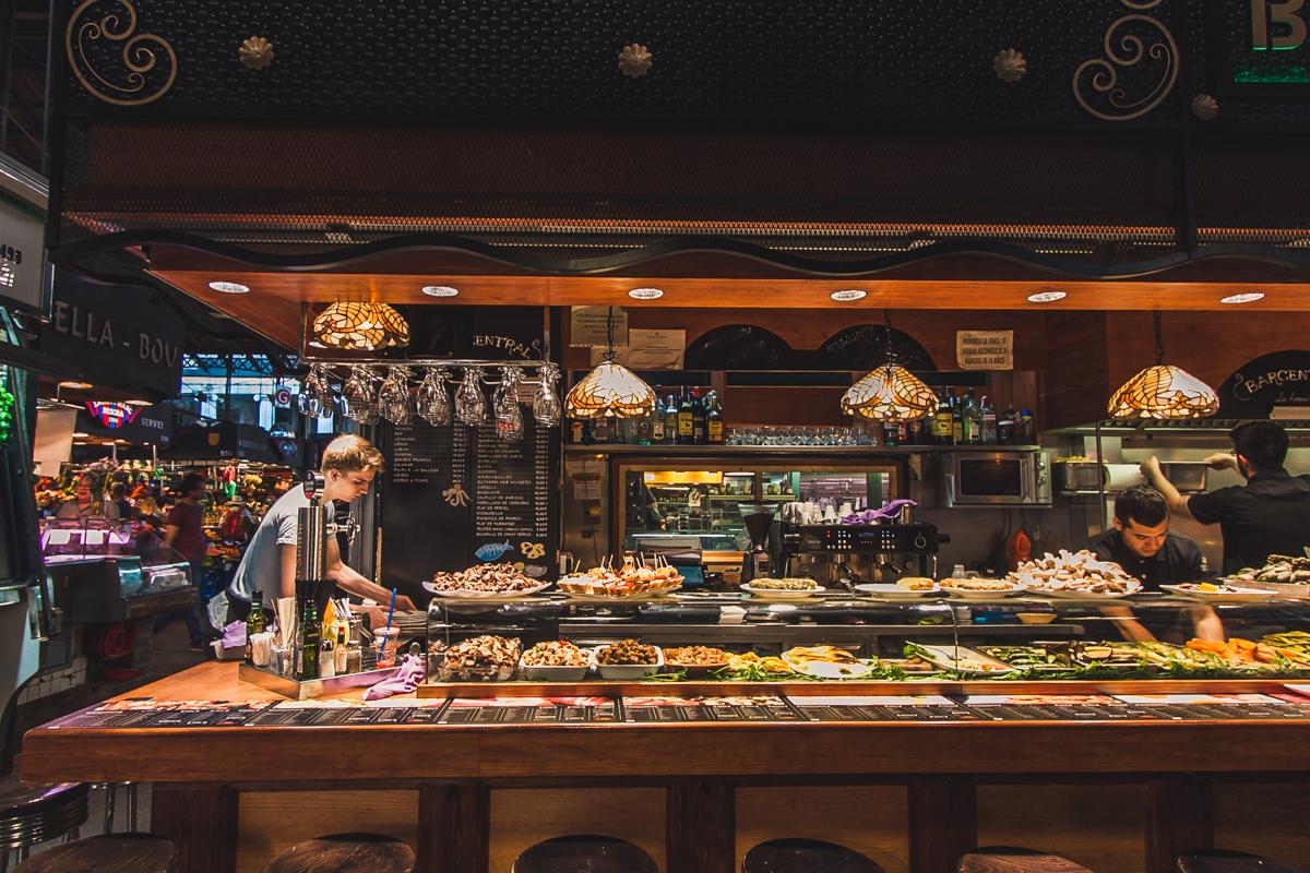jedzenie La Boqueria barcelona