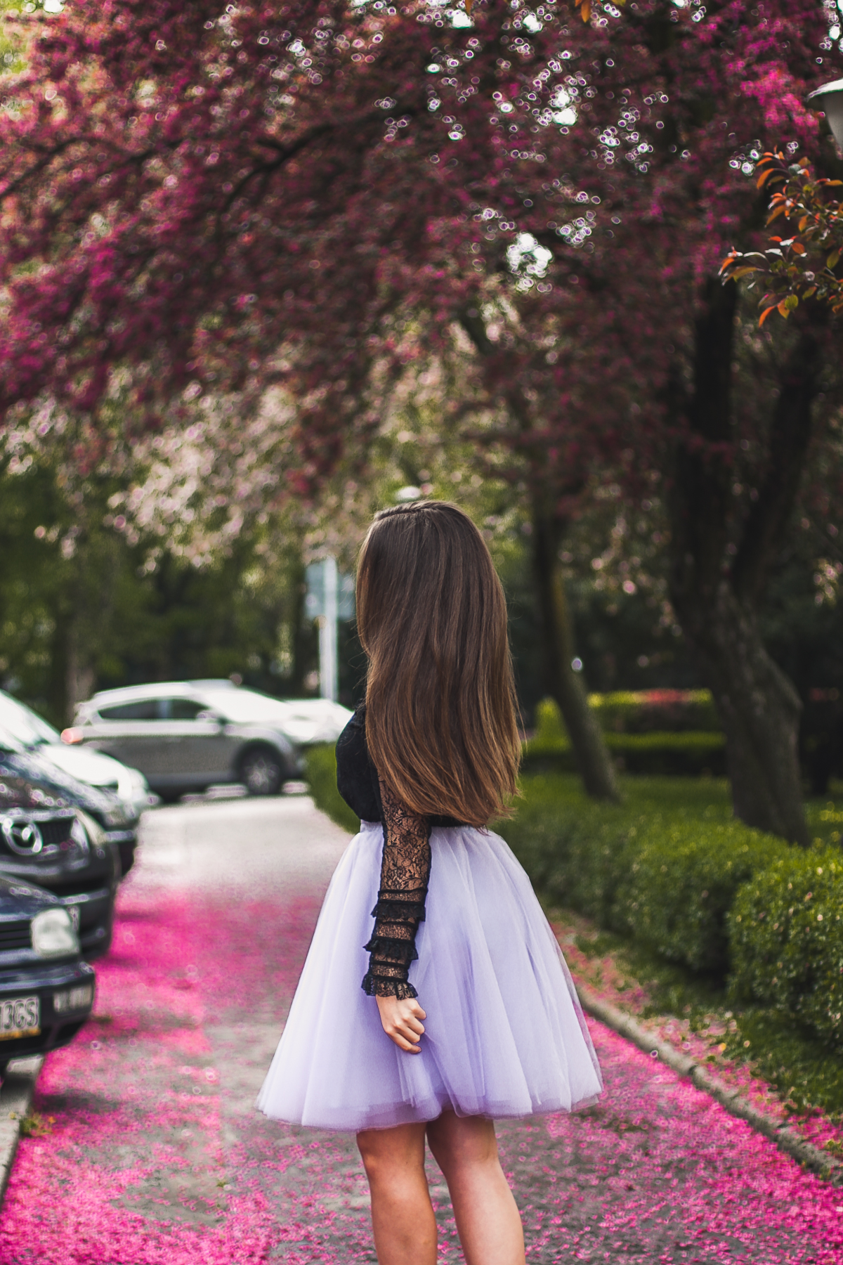spódnica na wesele stylizacja