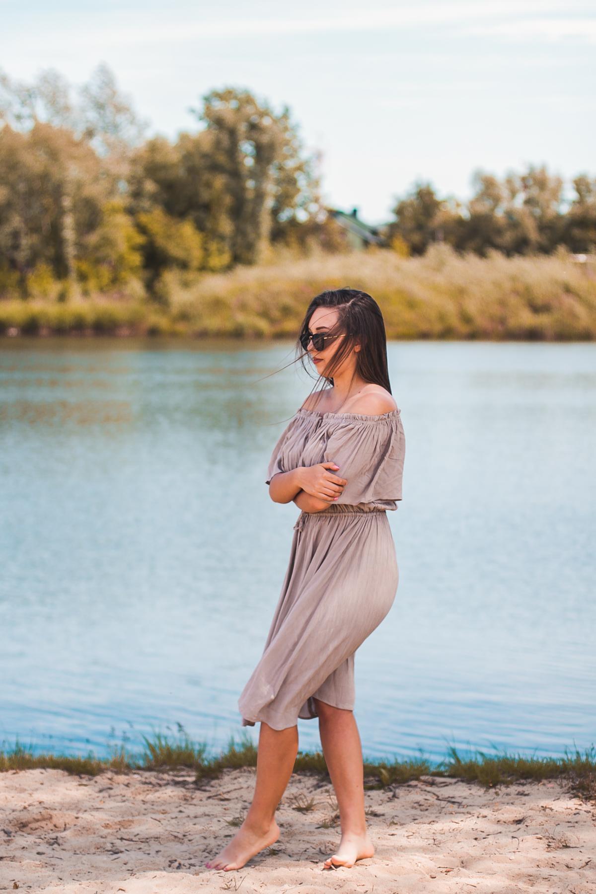 sukienka na piknik