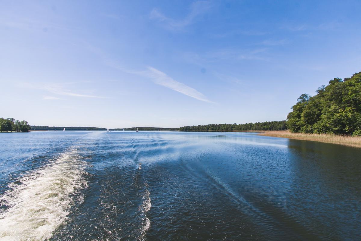 jezioro bełdany rejs mazury