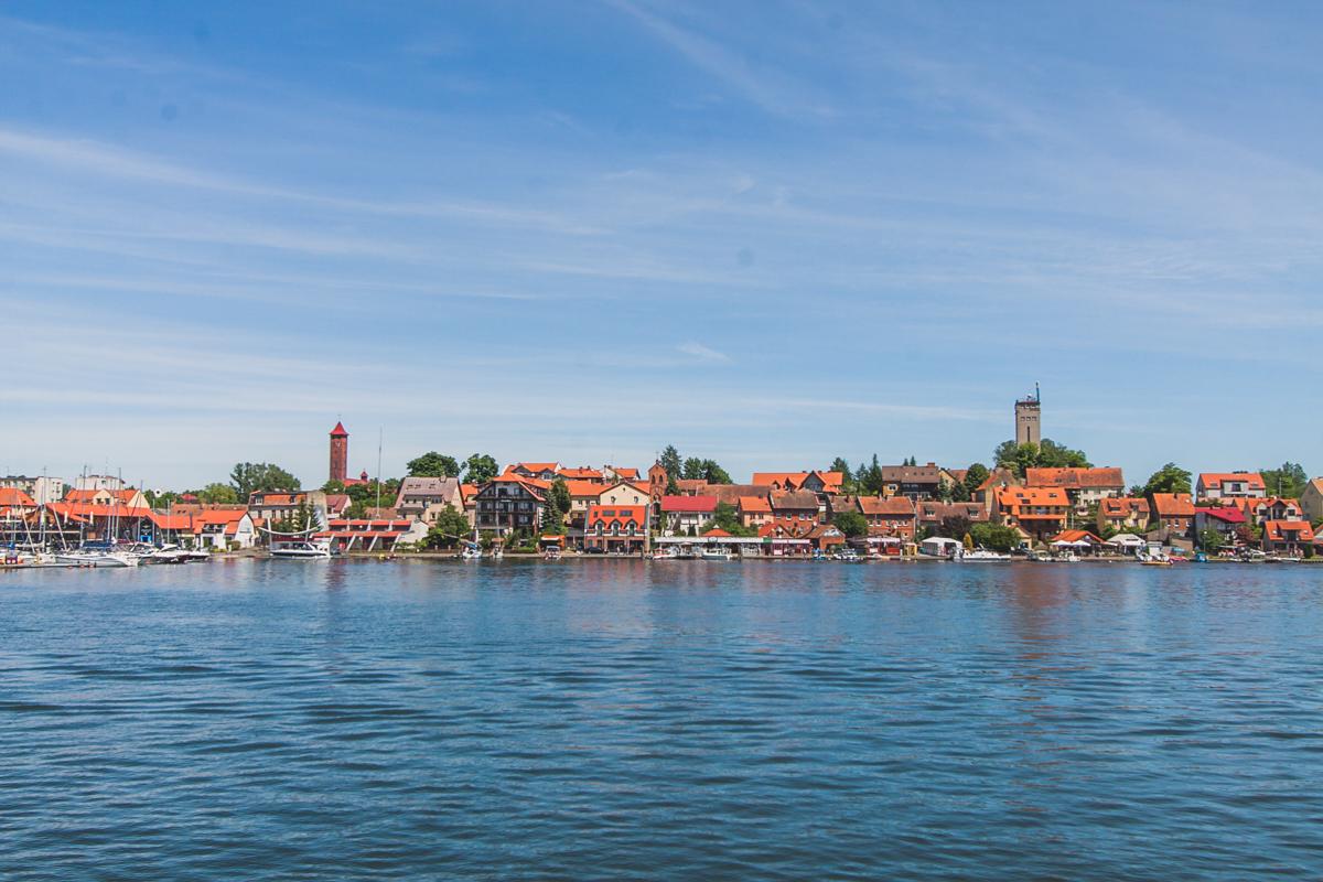 Jezioro mikołajskie mazury rejs