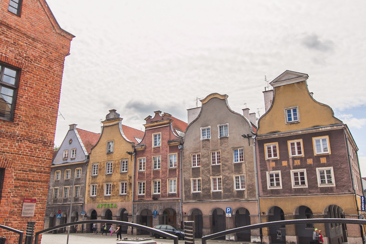 Olsztyn stare miasto starówka
