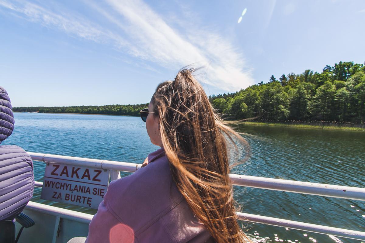 Rejs statkiem po mazurskich jeziorach