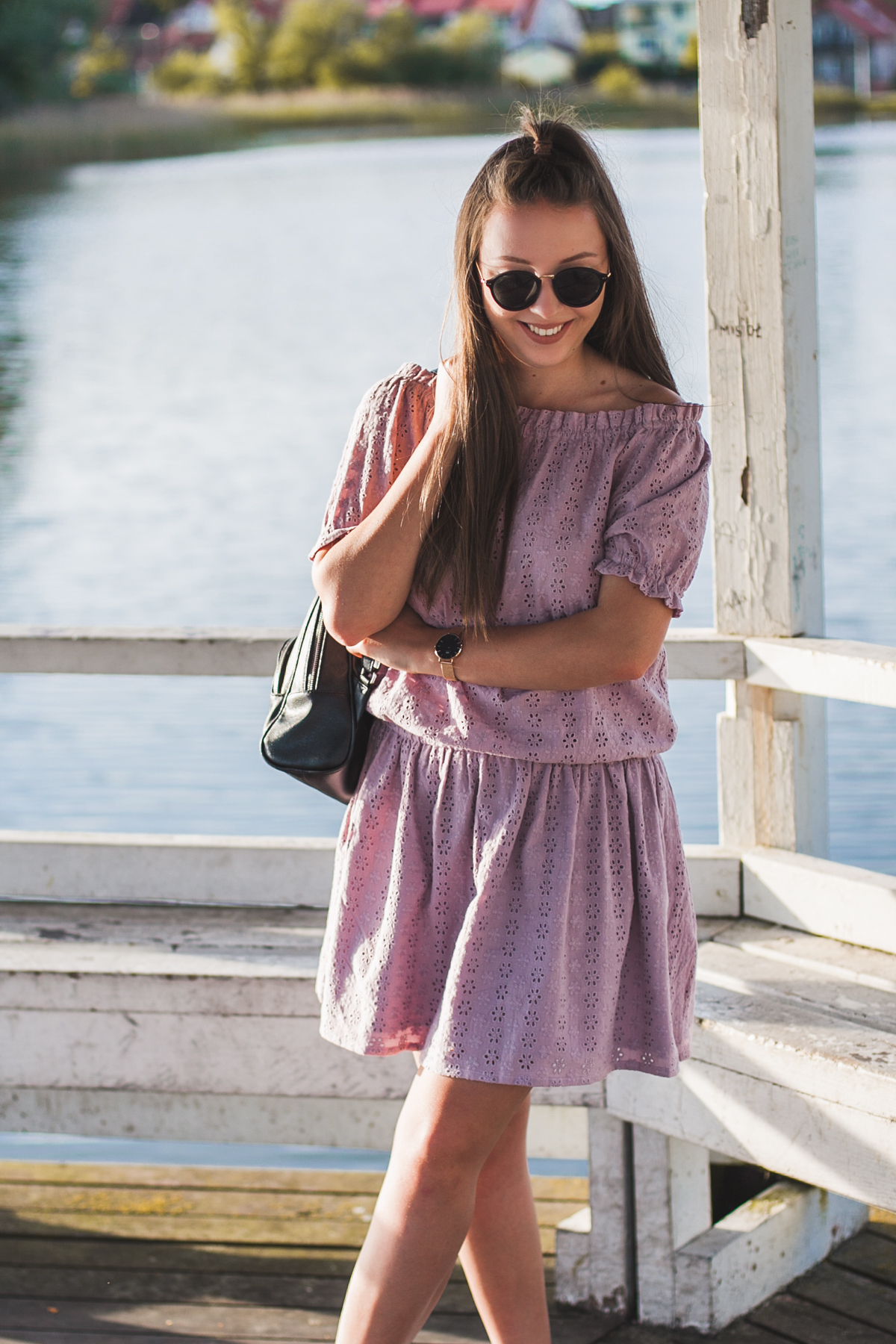 haftowana sukienka preska