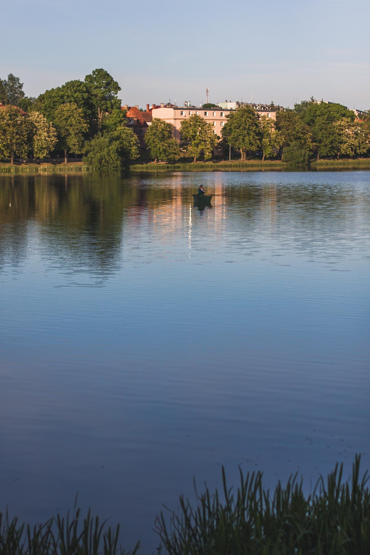 szczytno jezioro