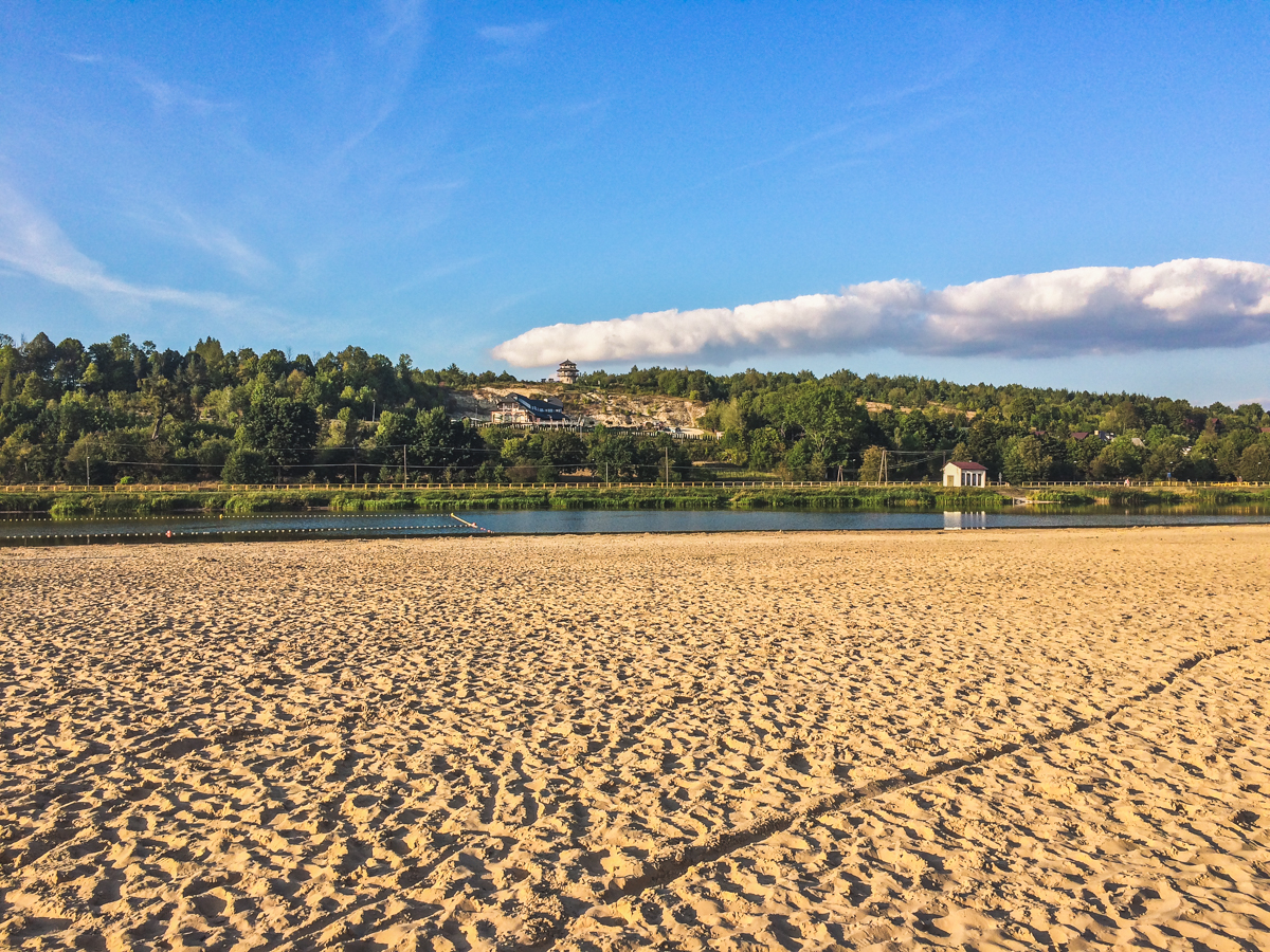 atrakcje krasnobród plaża