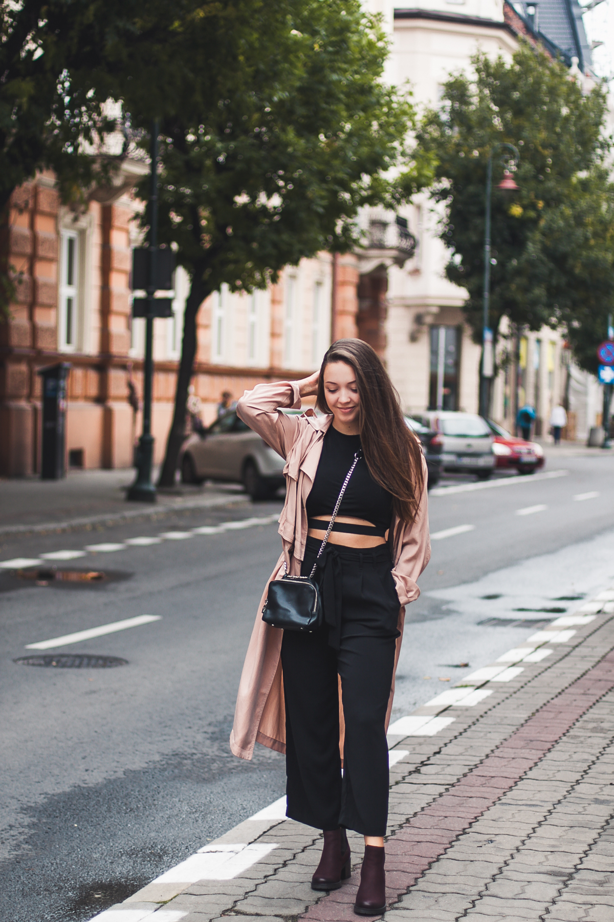 eleganckie spodnie czarne