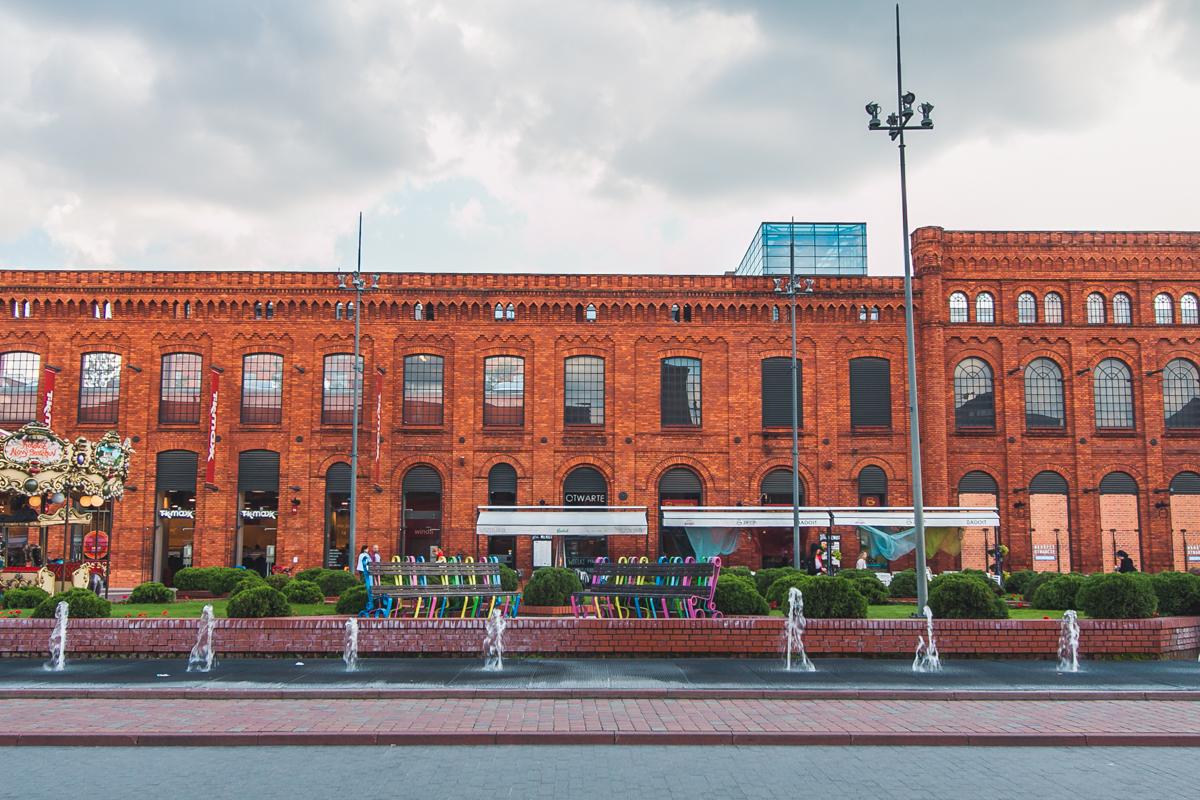 Centrum Handlowe Manufaktura atrakcje