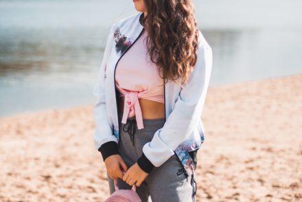 różowy futrzany plecak answear