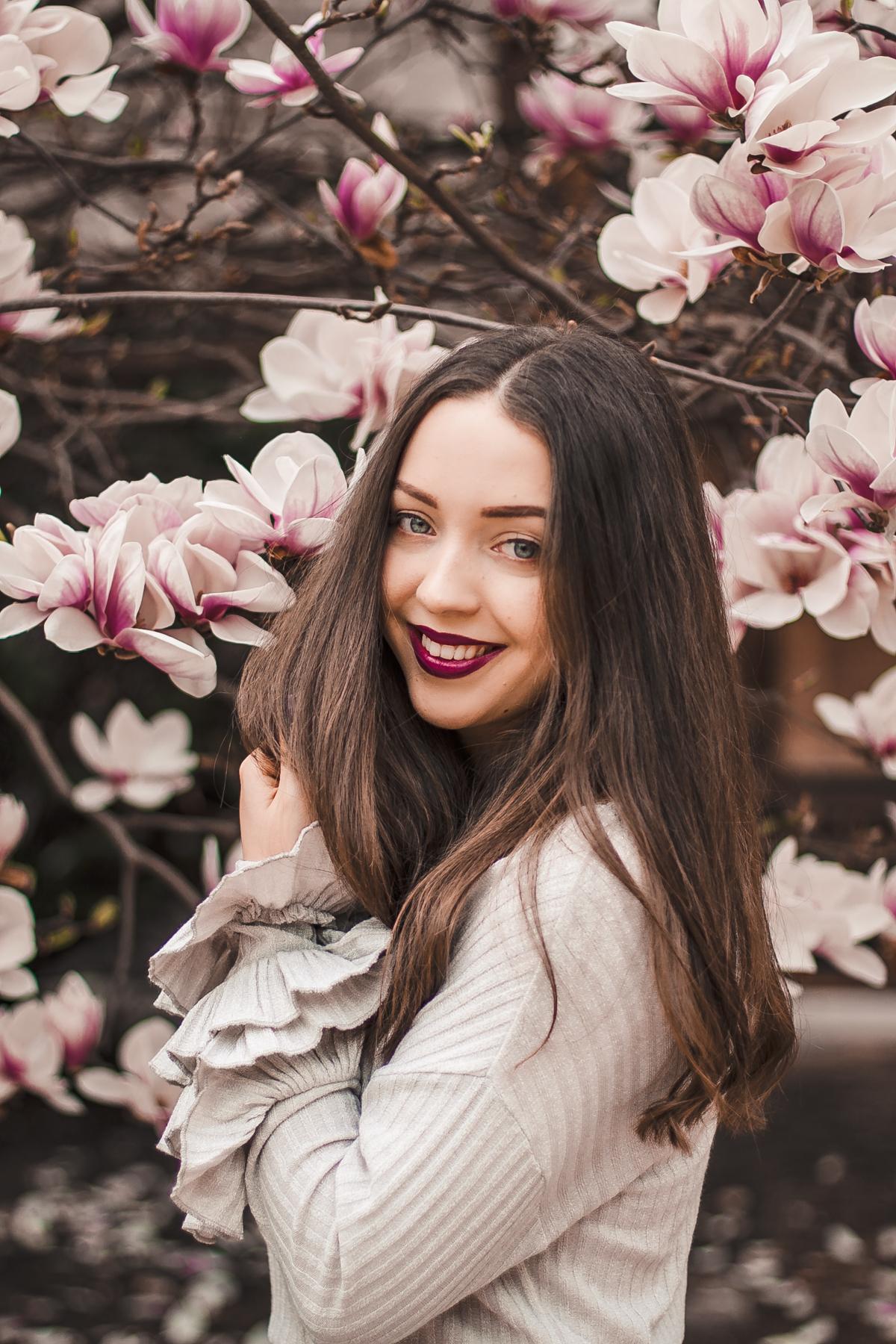 magnolie sesja