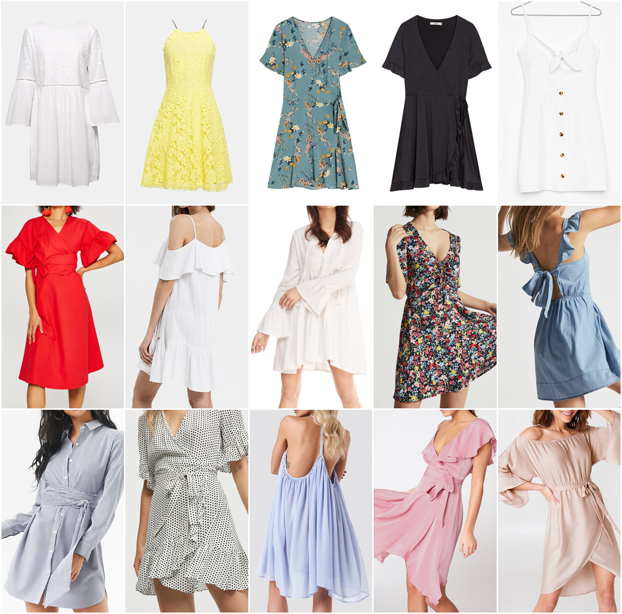 30205c6d24 Sukienki na lato - poradnik zakupowy - Kolorowadusza.com