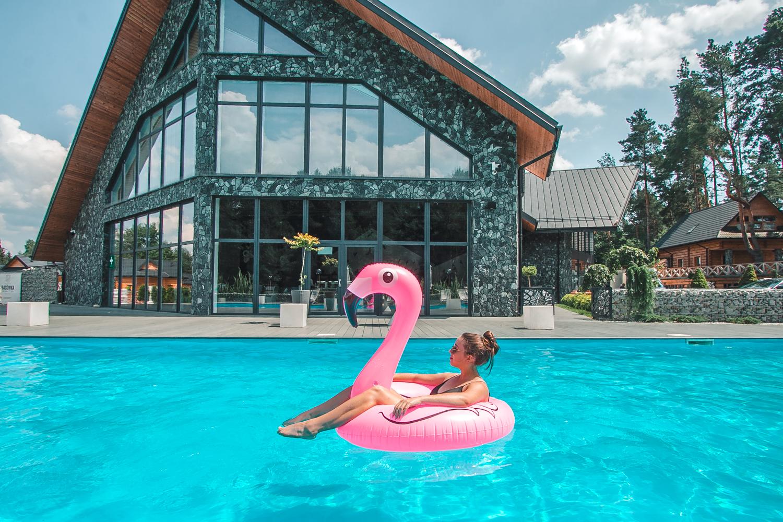 hotel bacówka basen zewnętrzny podkarpacie