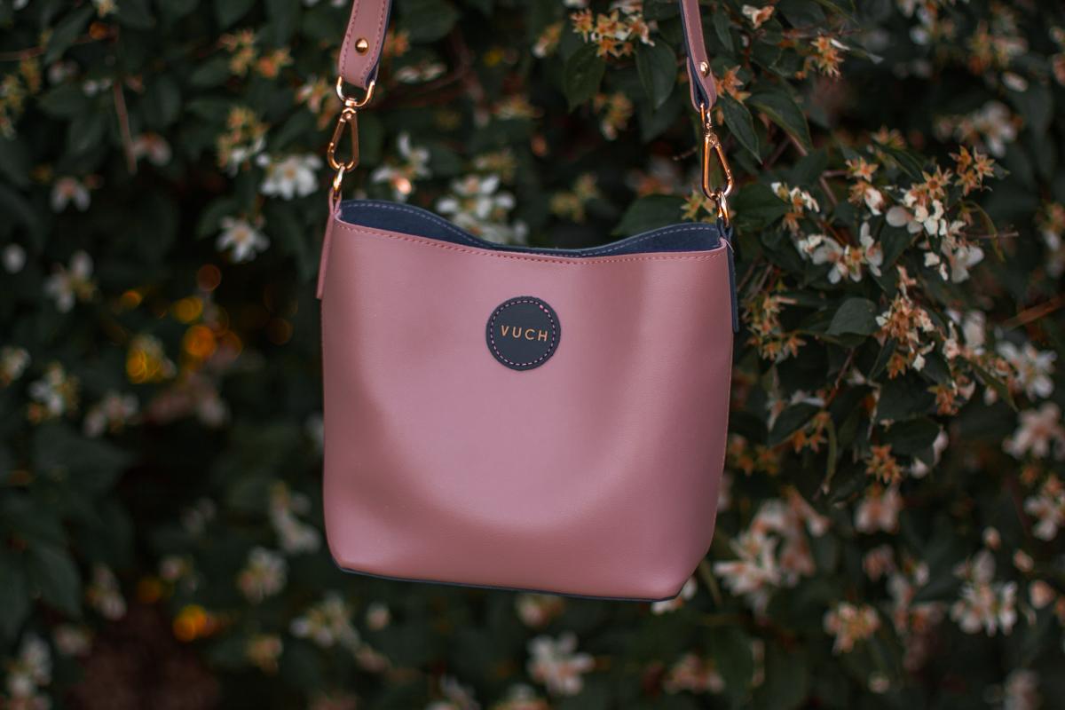vuch różowa torebka