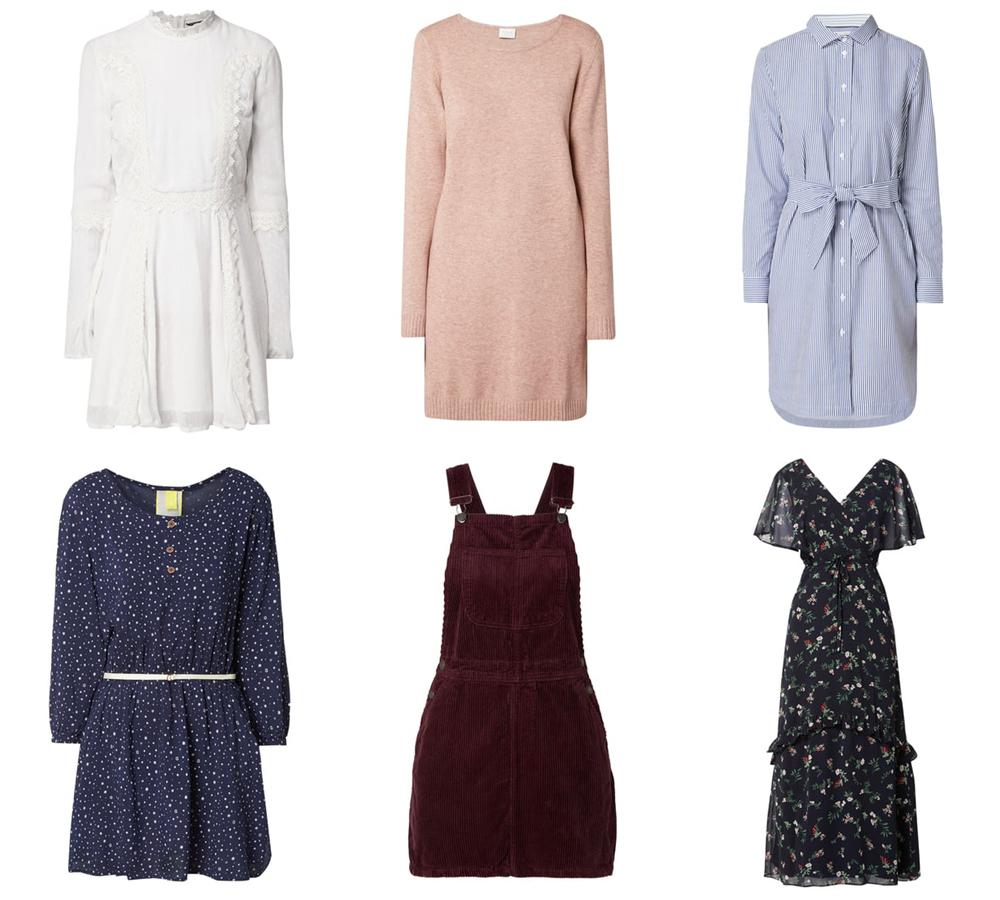 jaką sukienkę kupić na jesień