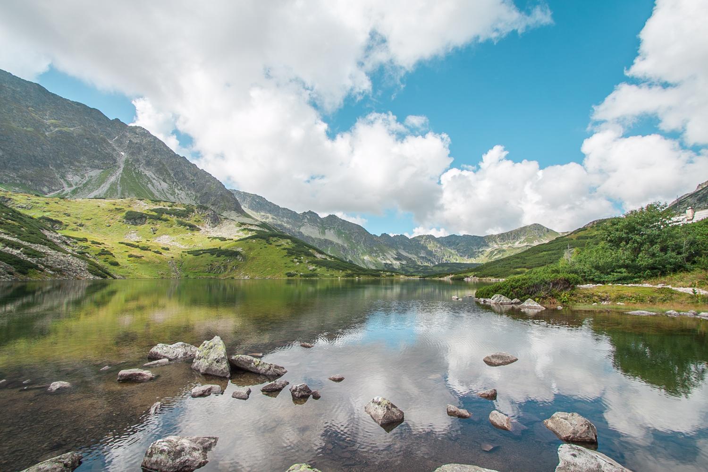 Dolina pięciu stawów szlak