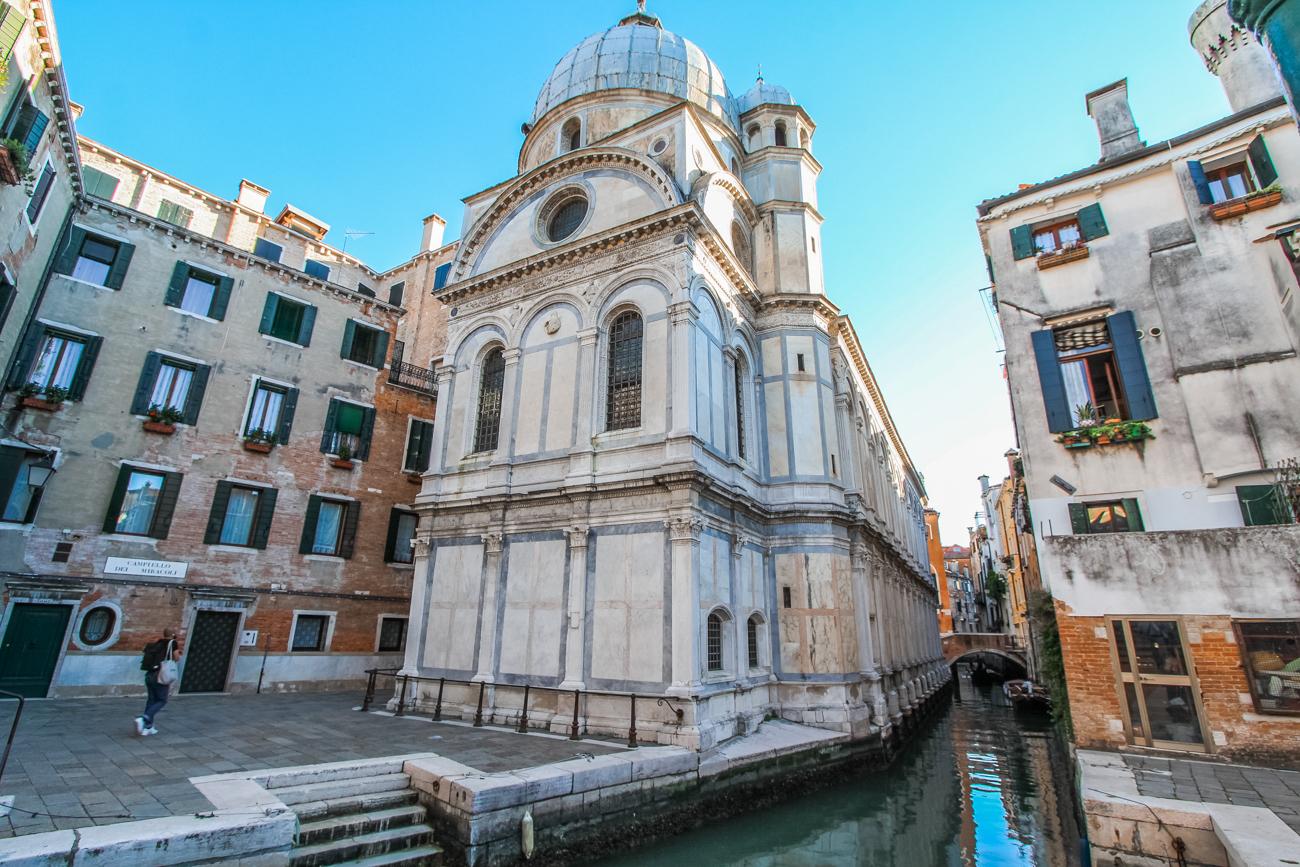 Kościół Santa Maria dei Miracoli w Wenecji