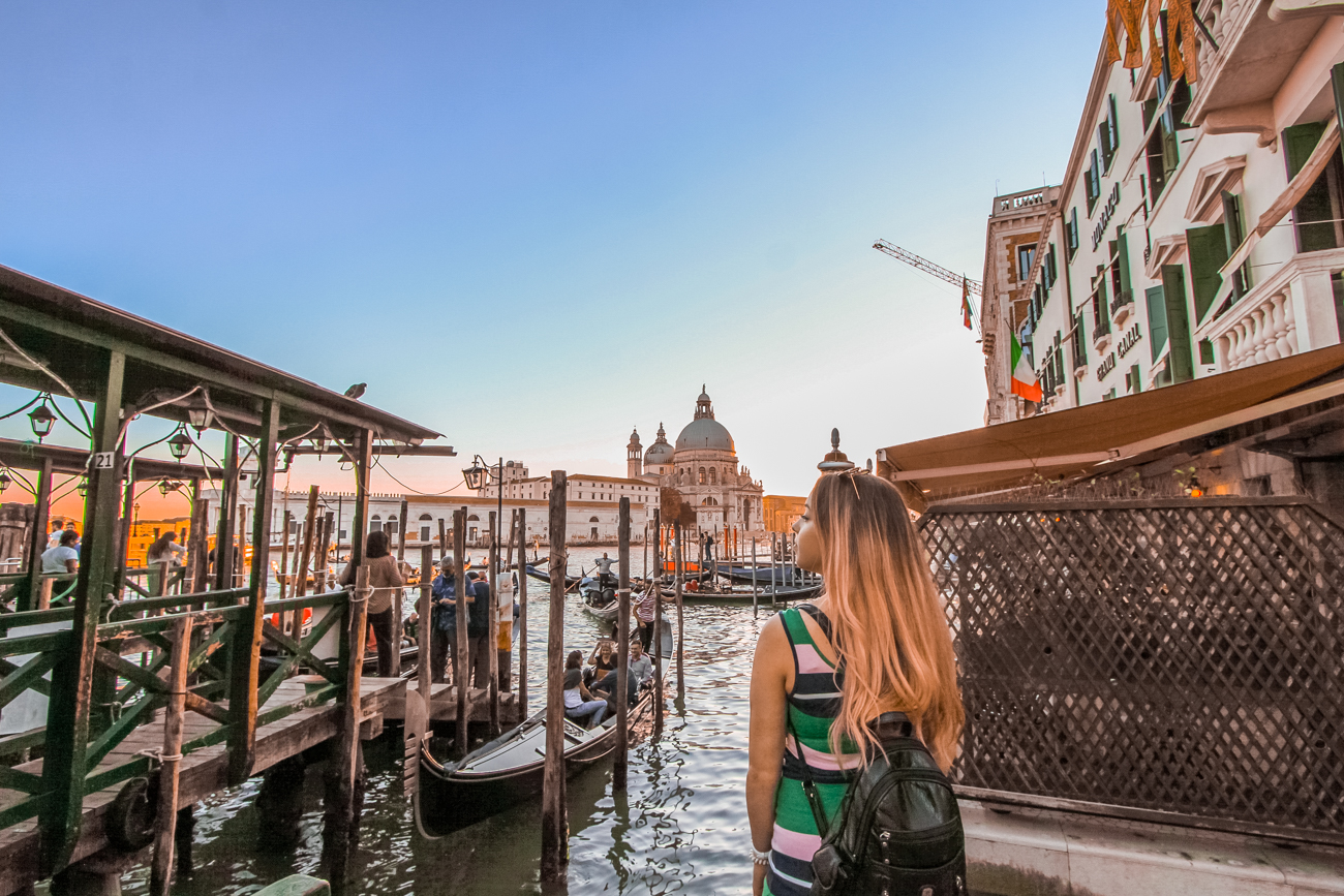 golden hour photo from venice