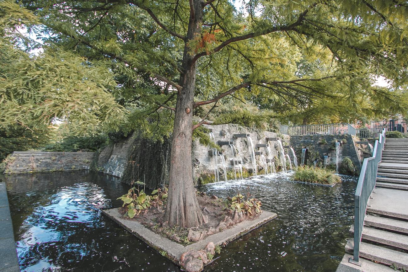Planten un Blomen park w hamburgu