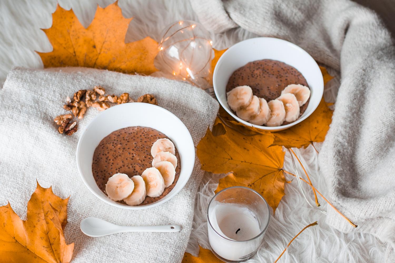 przepis na czekoladowy pudding z tapioki