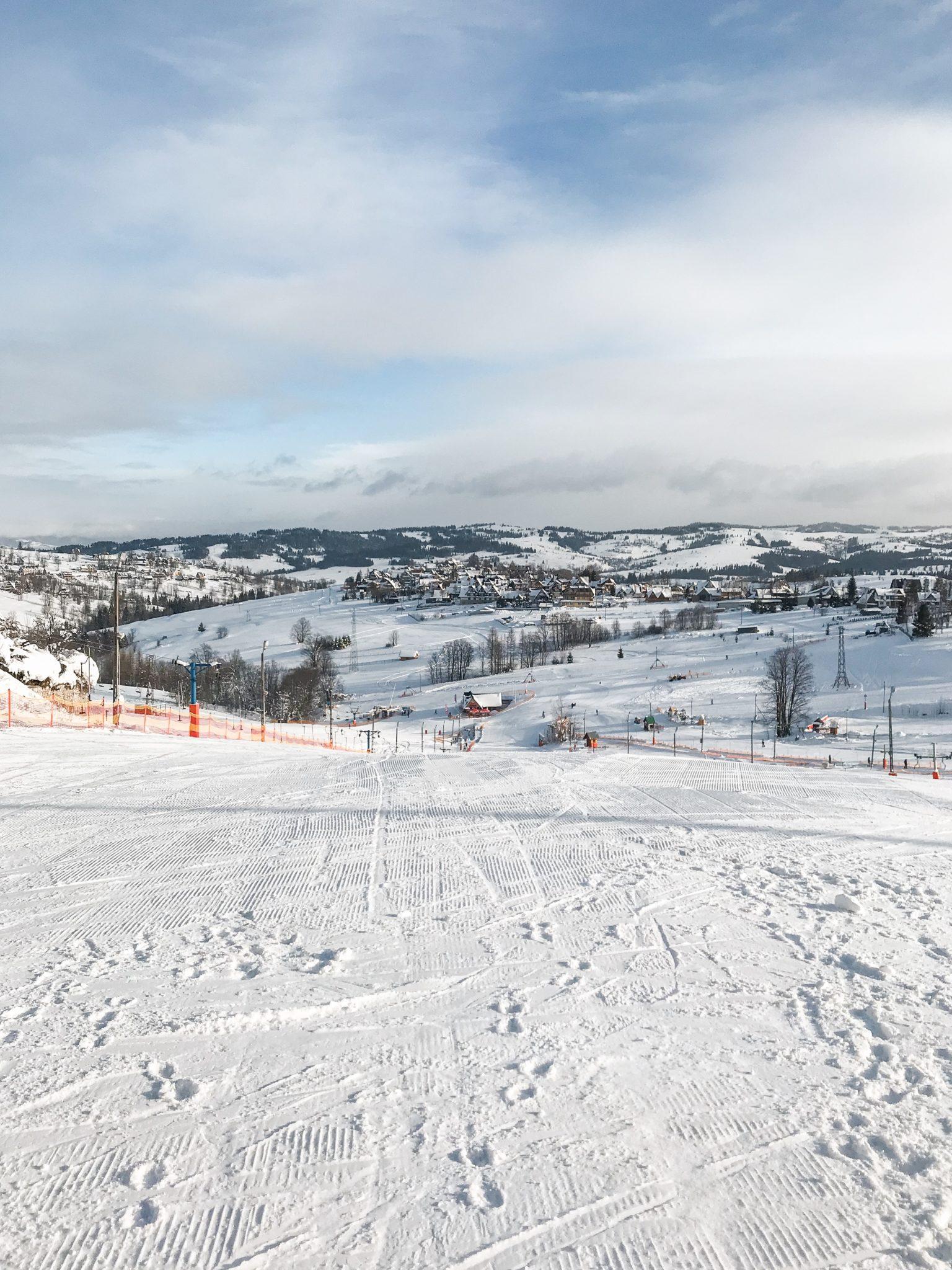 Bukowina Tatrzańska narty stok narciarski