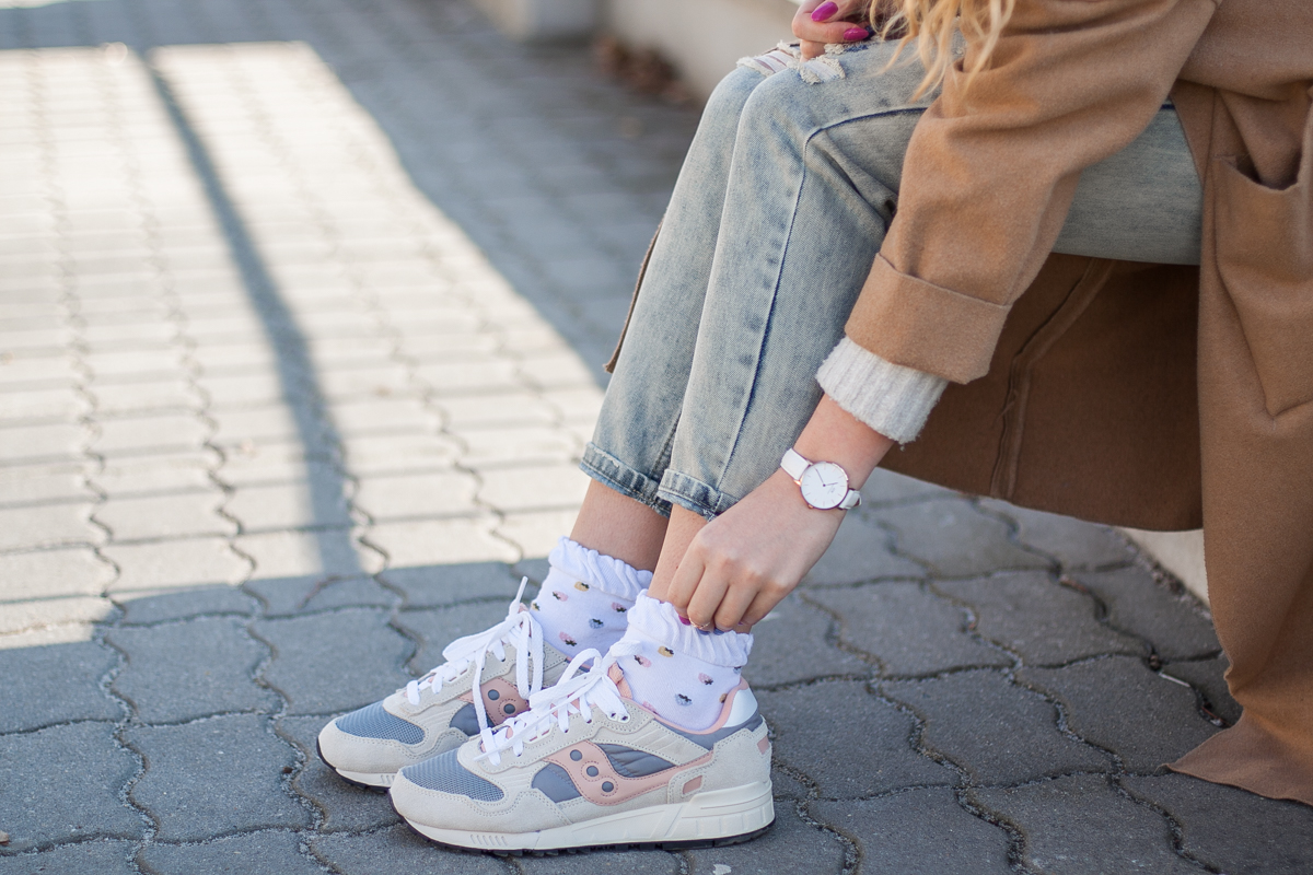 buty saucony stylizacja