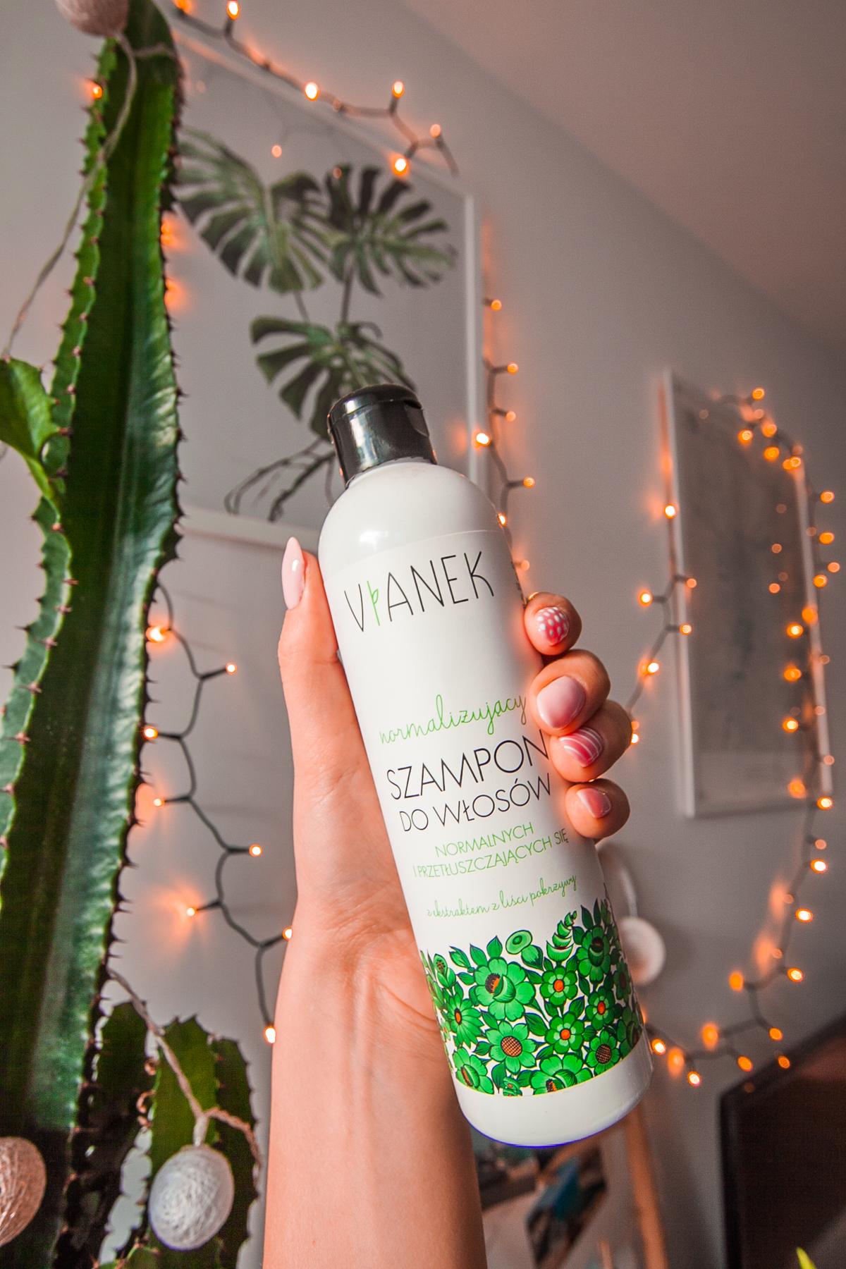 normalizujący szampon do włosów vianek sylveco