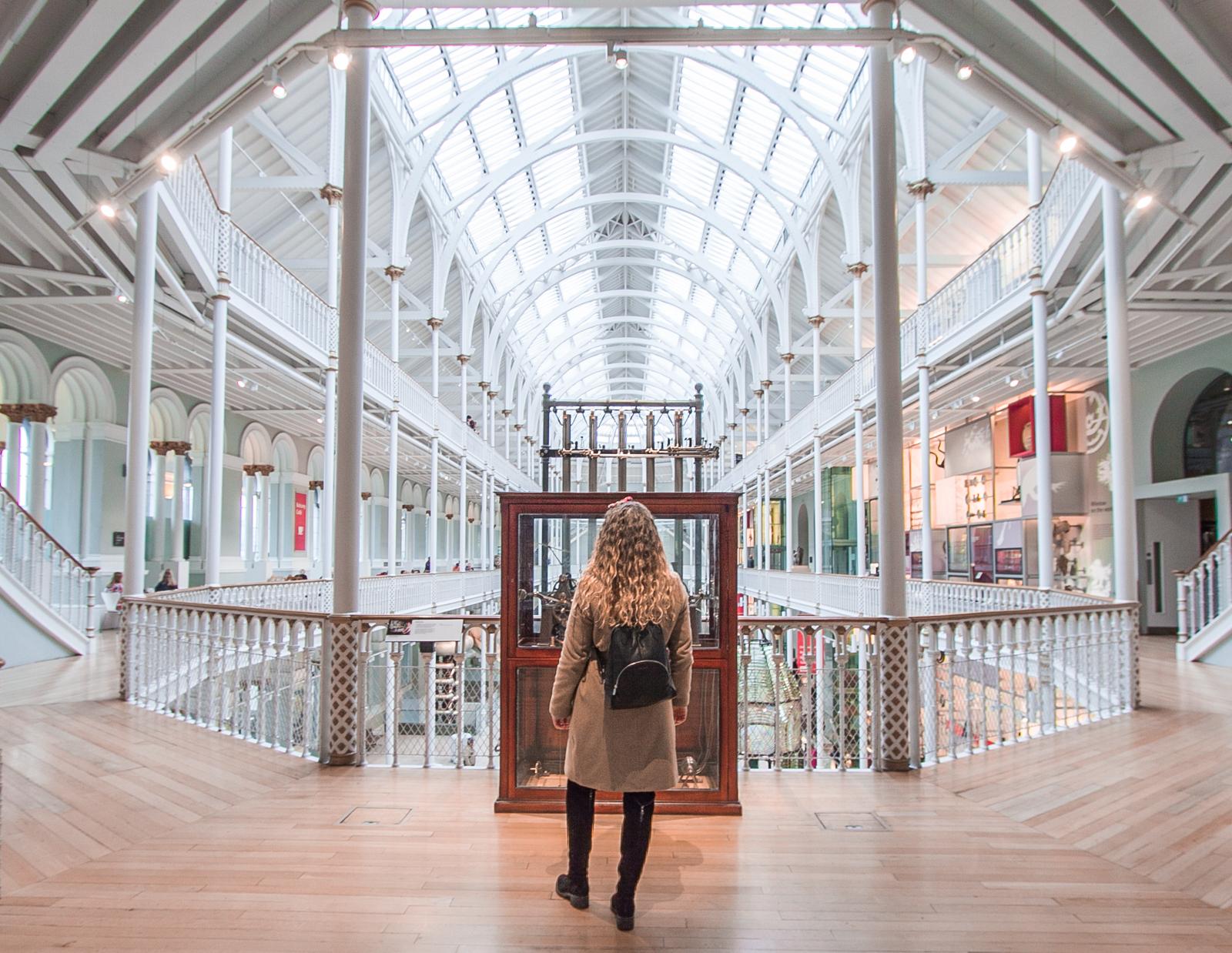 National Museum of Scotland atrakcja w edynburgu