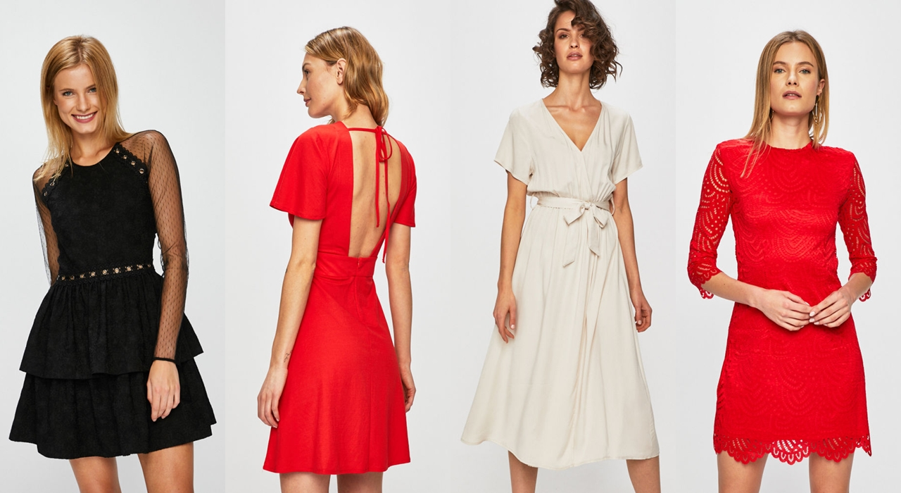 sukienki na wesele czerwień