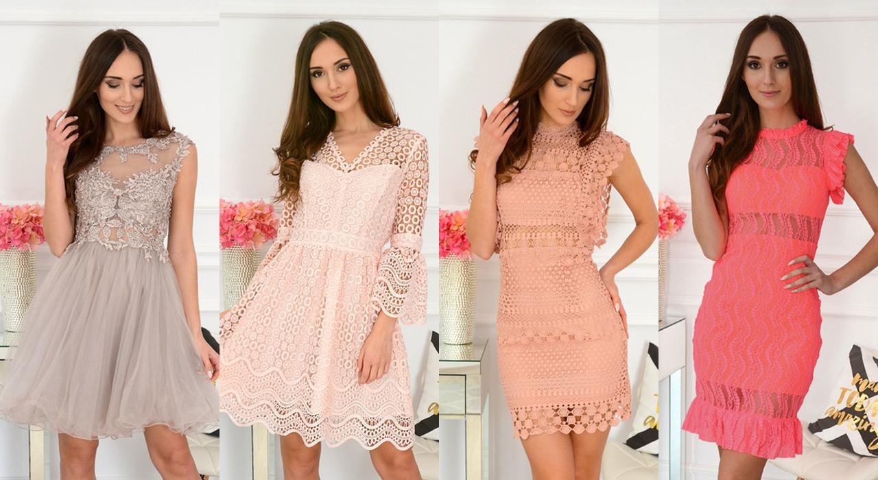 koronkowe sukienki na wesele