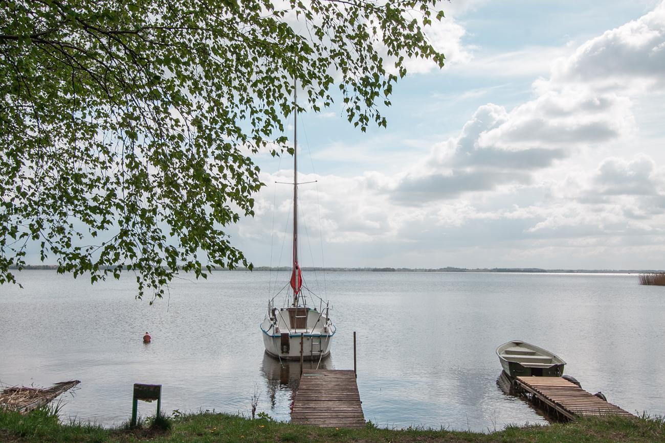 jezioro niegocin na mazurach