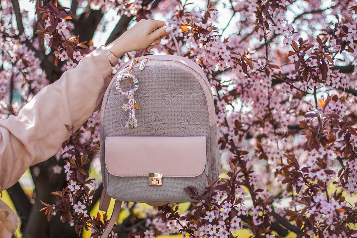 plecak w kwiaty z answear