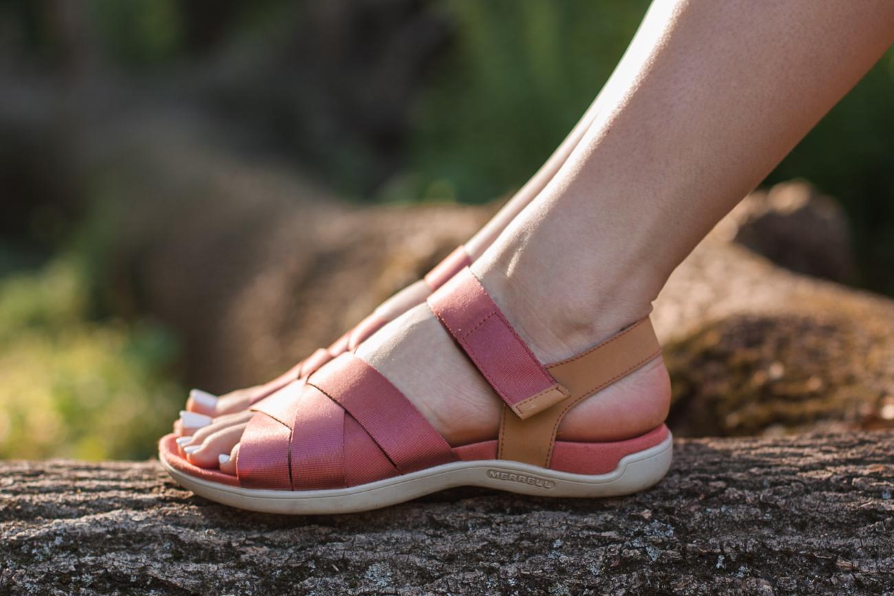 sandały merrel buty wygodne na co dzień