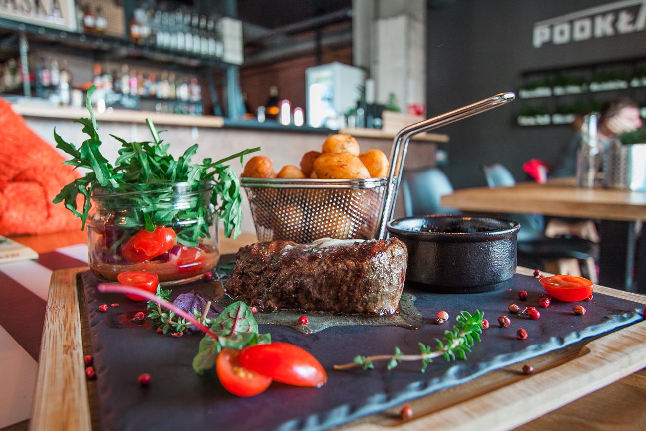 stek z polędwicy mazurskiej