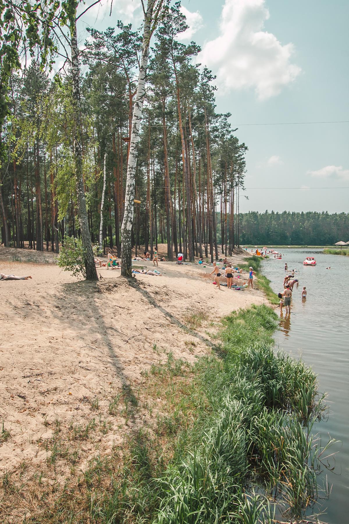 plaża w krasnobrodzie