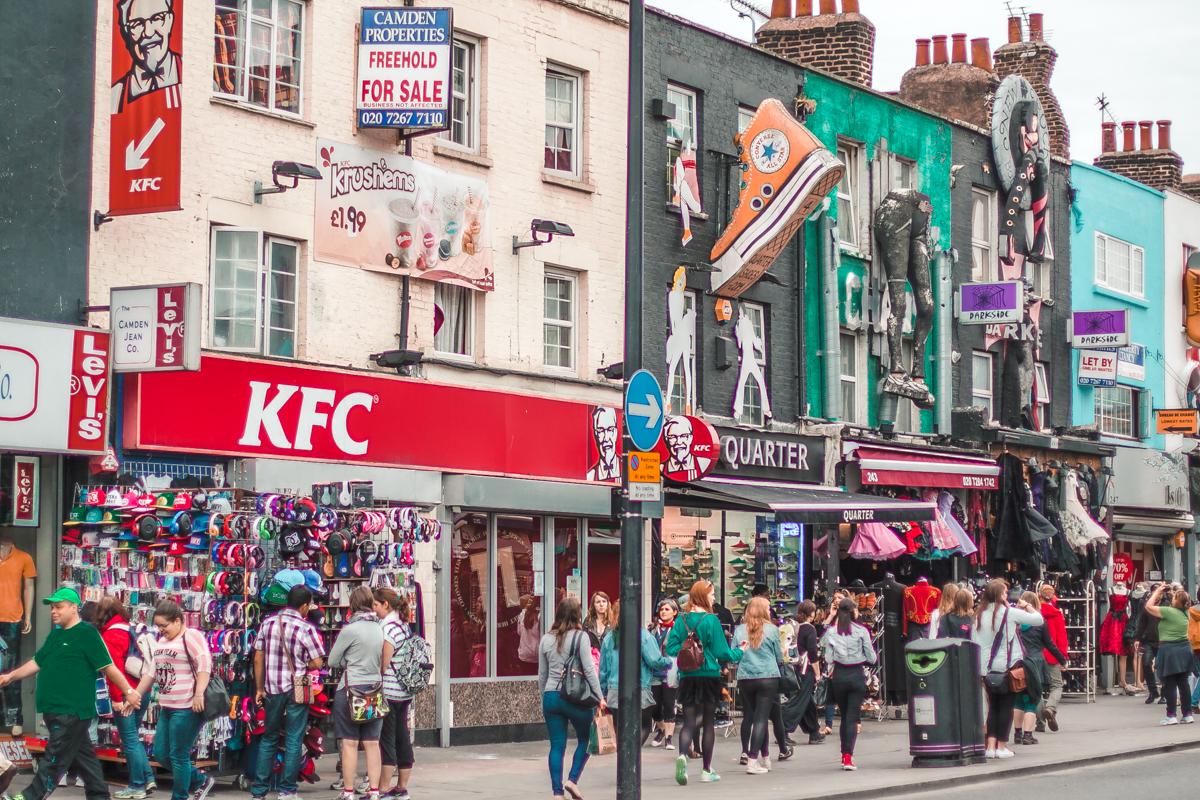camden town w londynie atrakcje