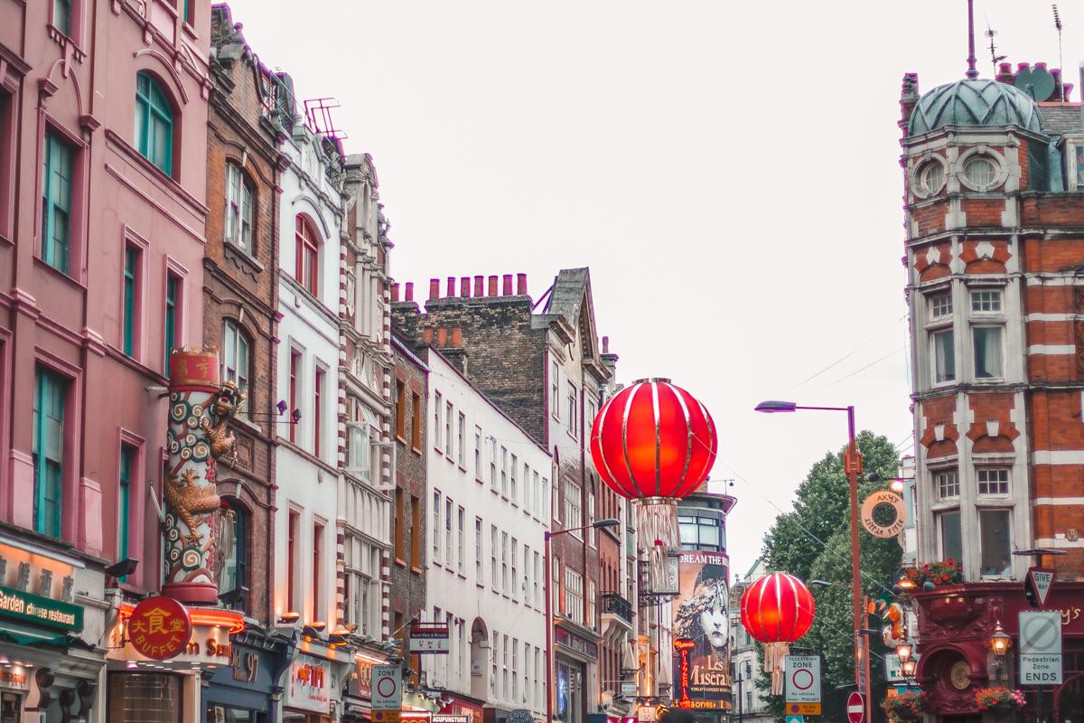 china town chińskie miasto w londynie