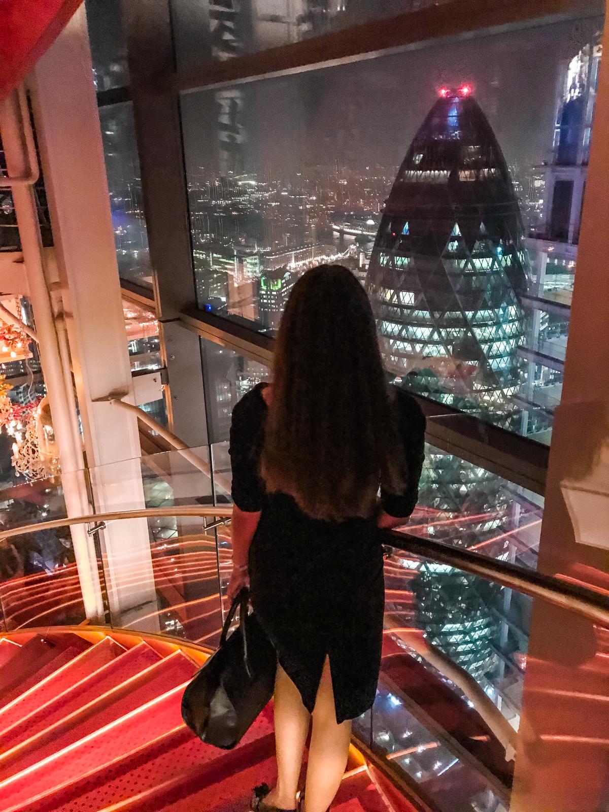 najlepsze bary widokowe z londynie
