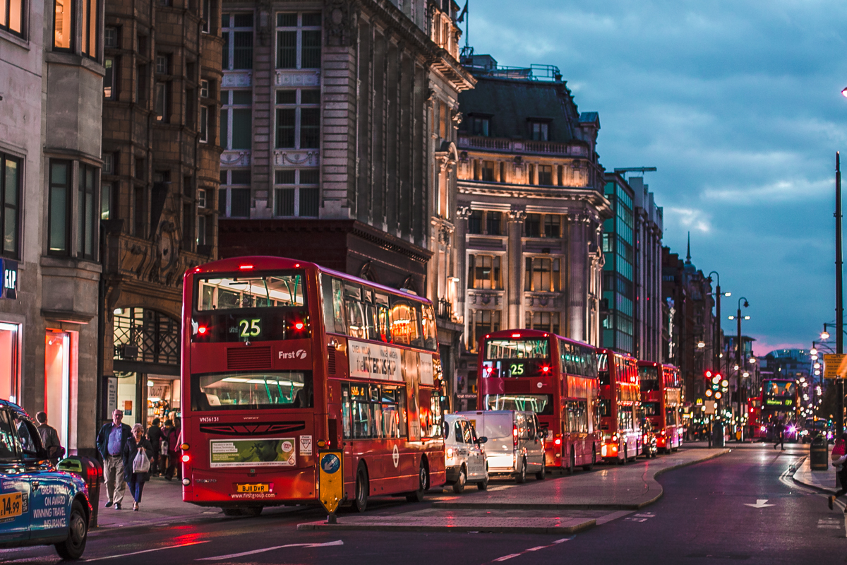 oxford street atrakcje londynu