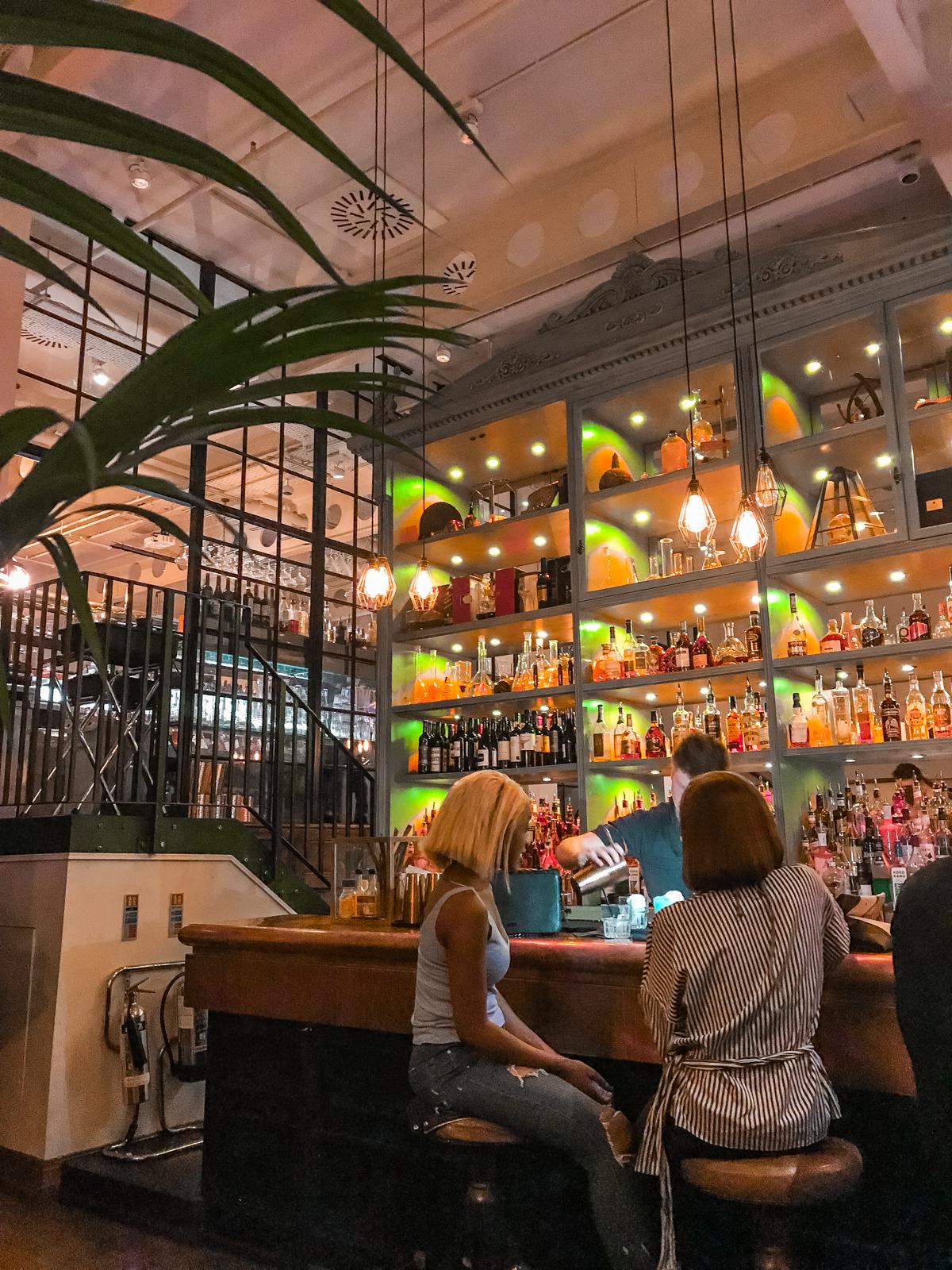 bar w londynie drinki atrakcje londynu