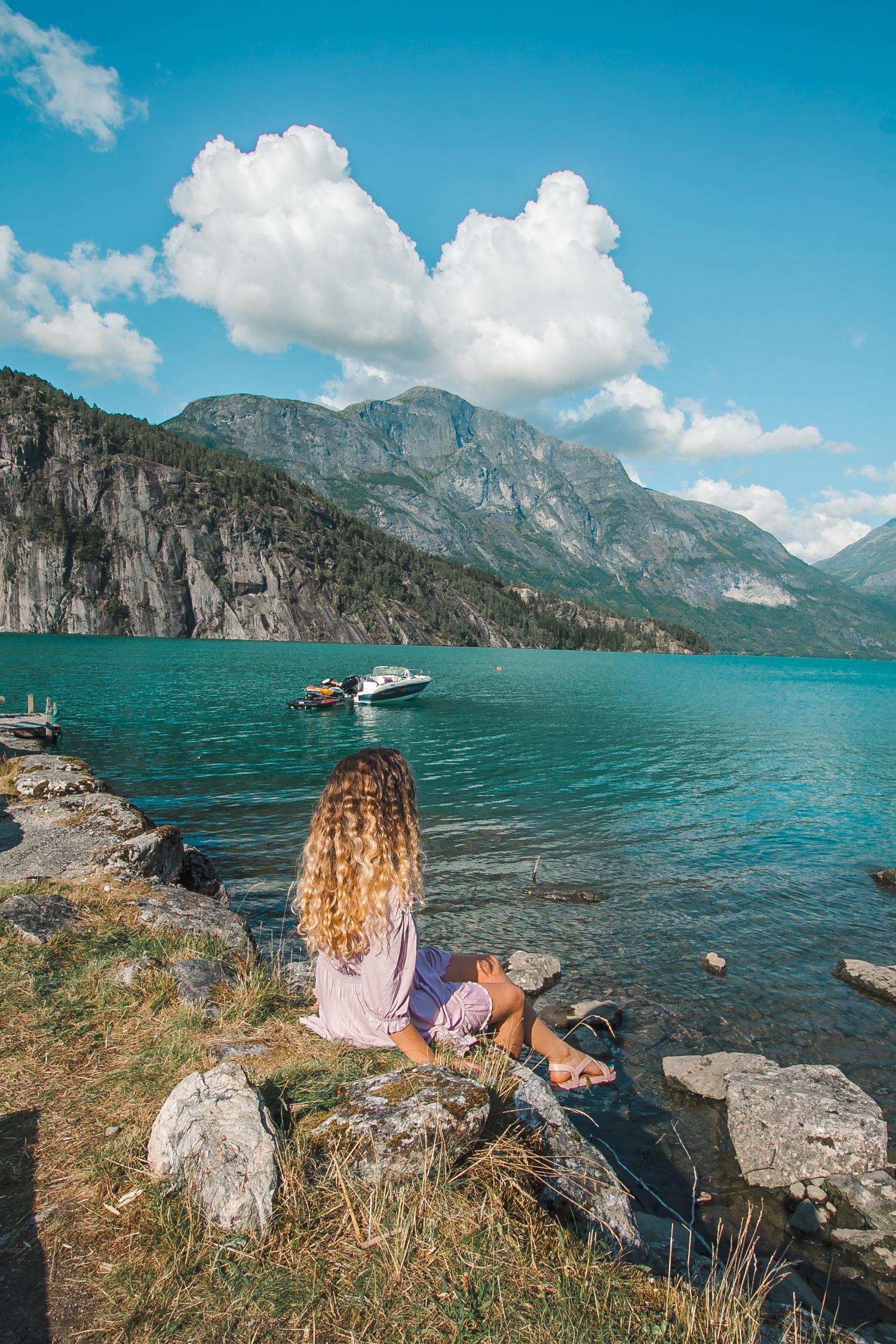 Strynsvatn camping norwegia wycieczka