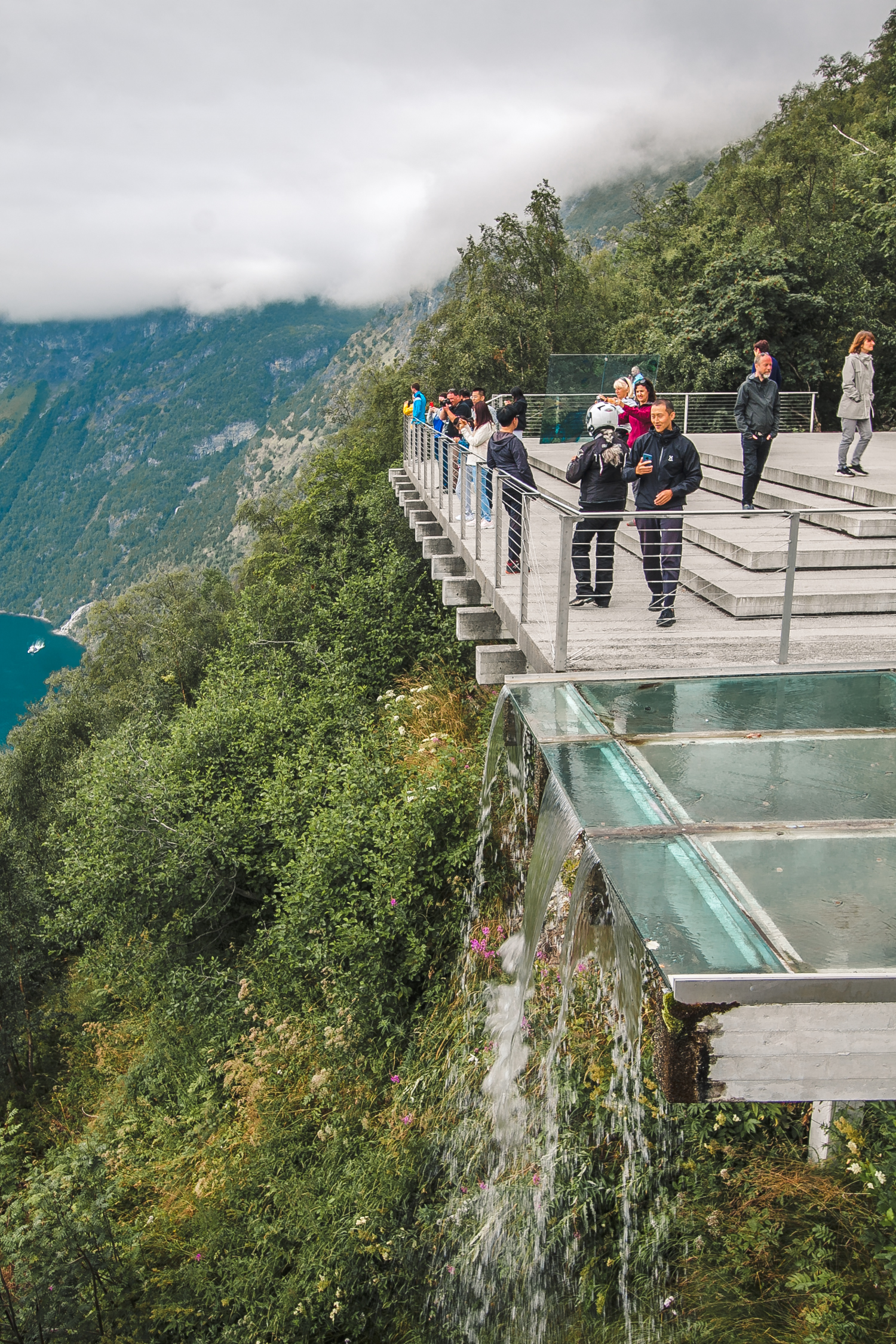 punkt widokowy geiranger atrakcje norwegii