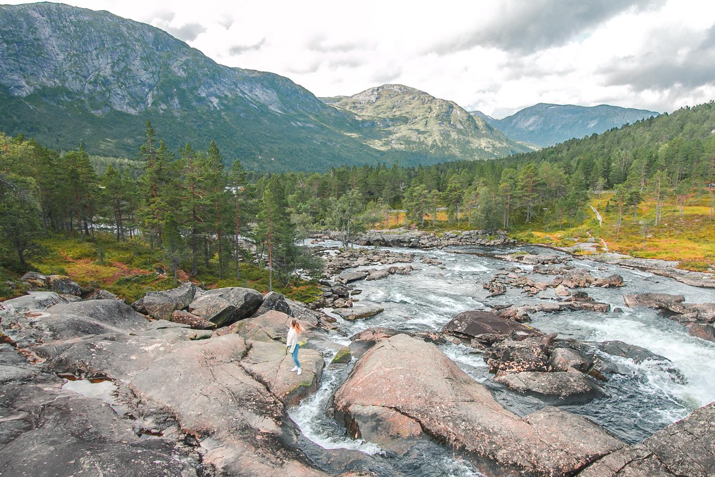 wodospad norwegia