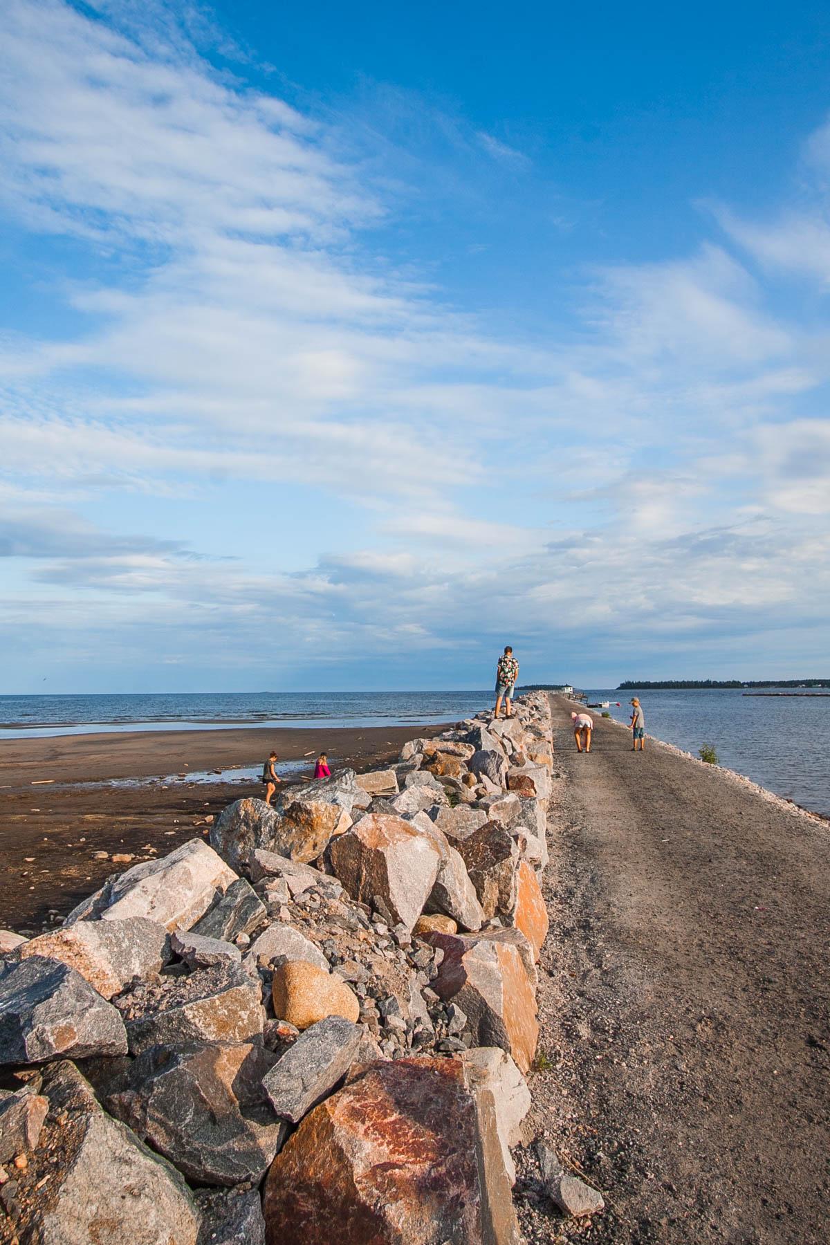szwecja byske plaża