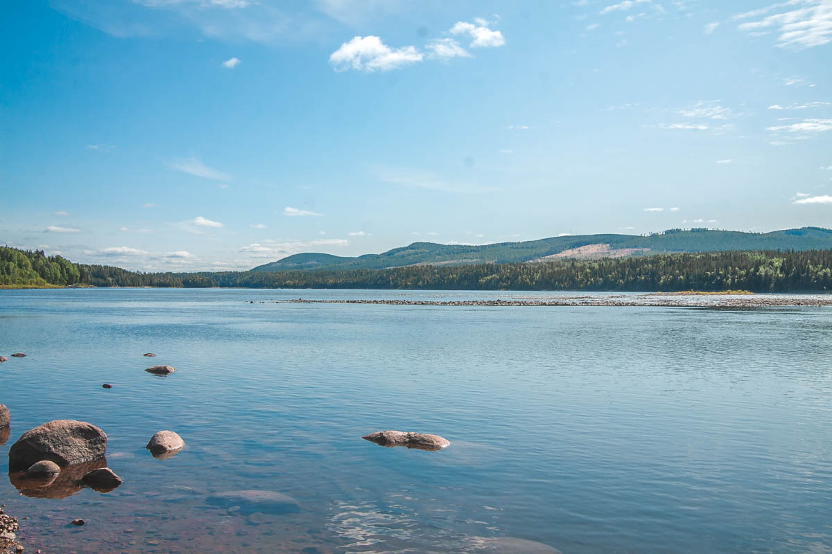 rzeka pitea w szwecji