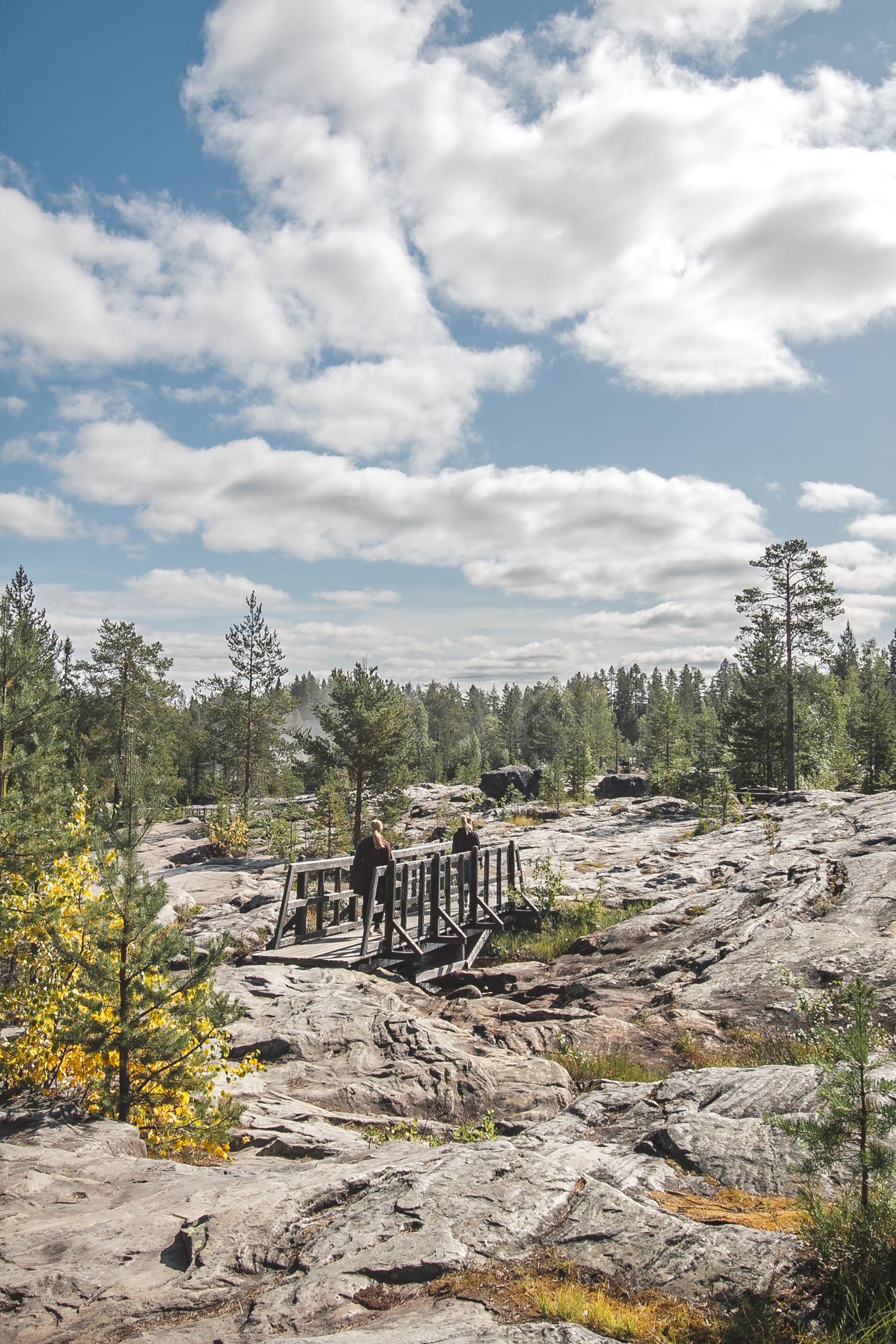 atrakcje szwecji storforsen