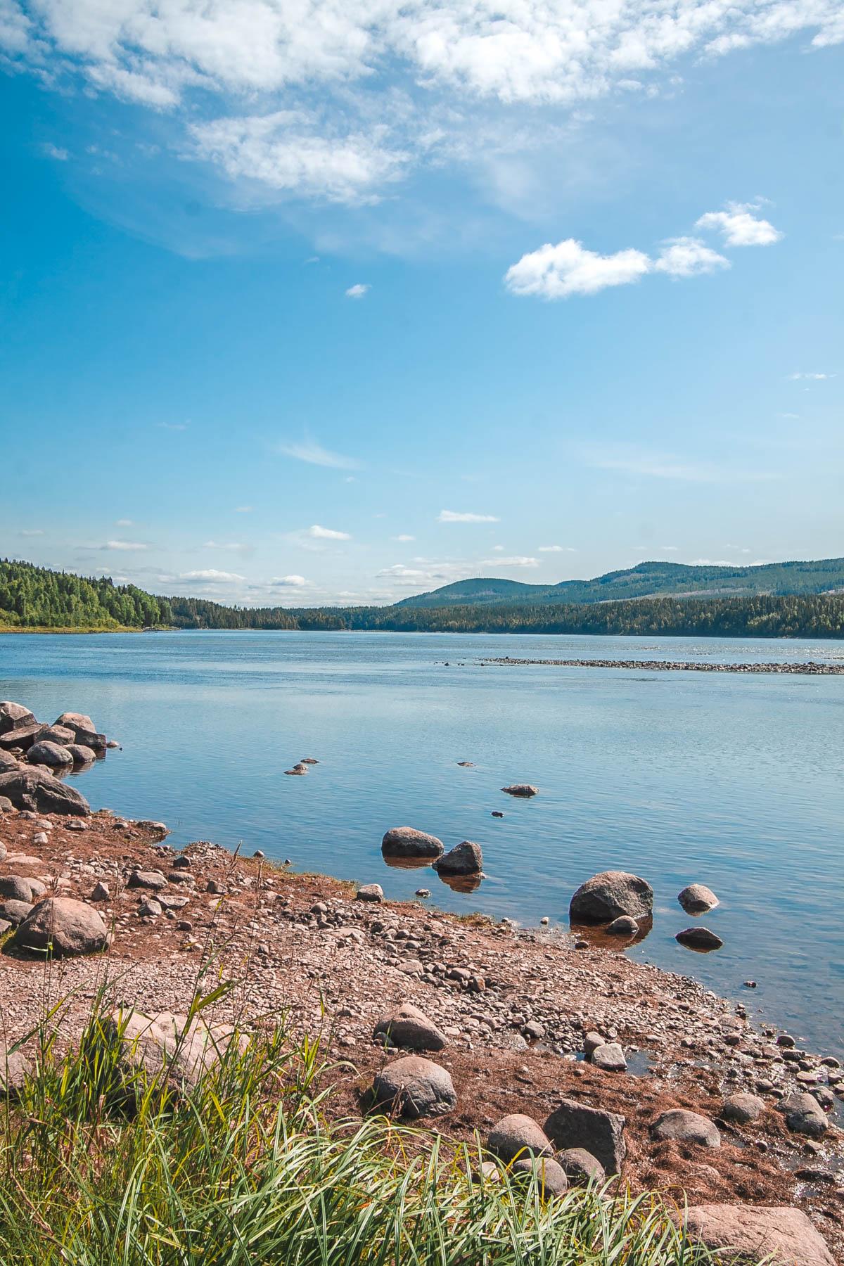 jeziora w szwecji